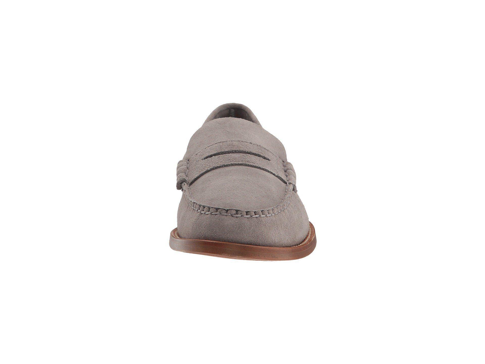 394b12d585e Sebago - Gray Legacy Penny (grey Suede) Men s Slip On Shoes for Men -. View  fullscreen