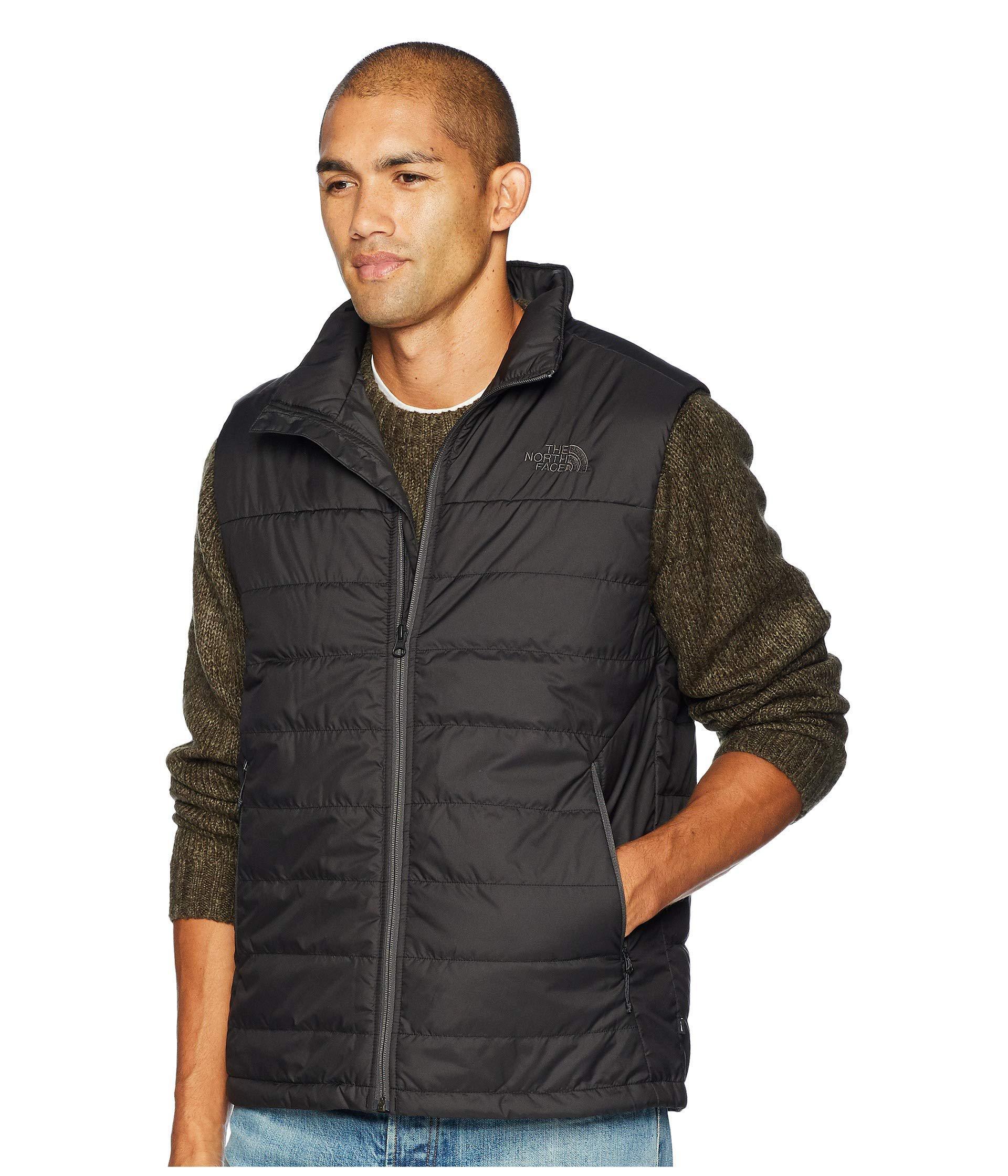 Lyst - The North Face Bombay Vest (tnf Black) Men s Vest in Black for Men 42da1d079