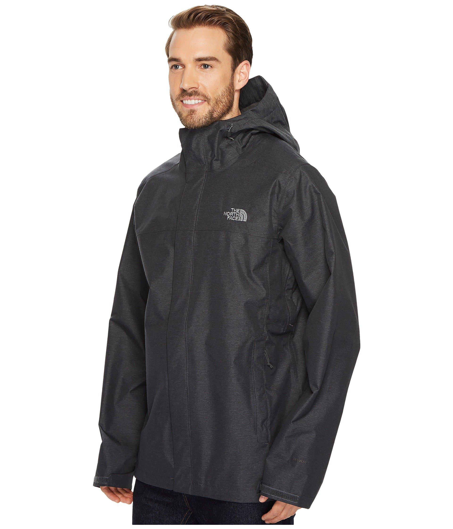 82effe63bd ... inexpensive lyst the north face venture 2 jacket tall tnf dark grey  heather tnf dark grey