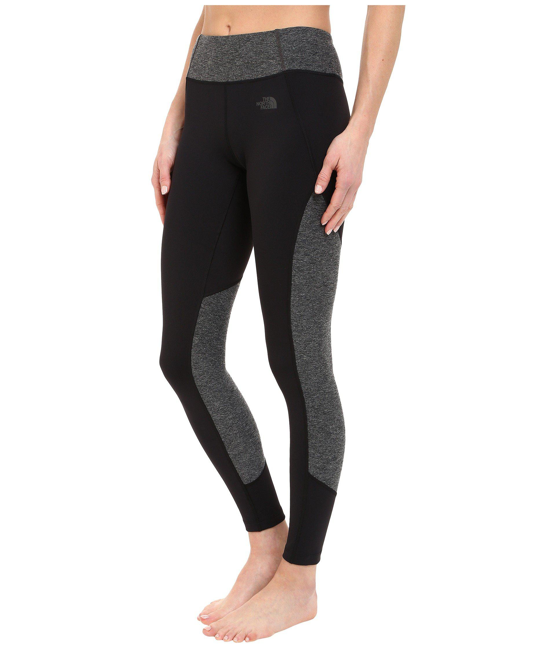 bb5095ef1297c2 The North Face Motivation Color Block Printed Leggings in Black - Lyst