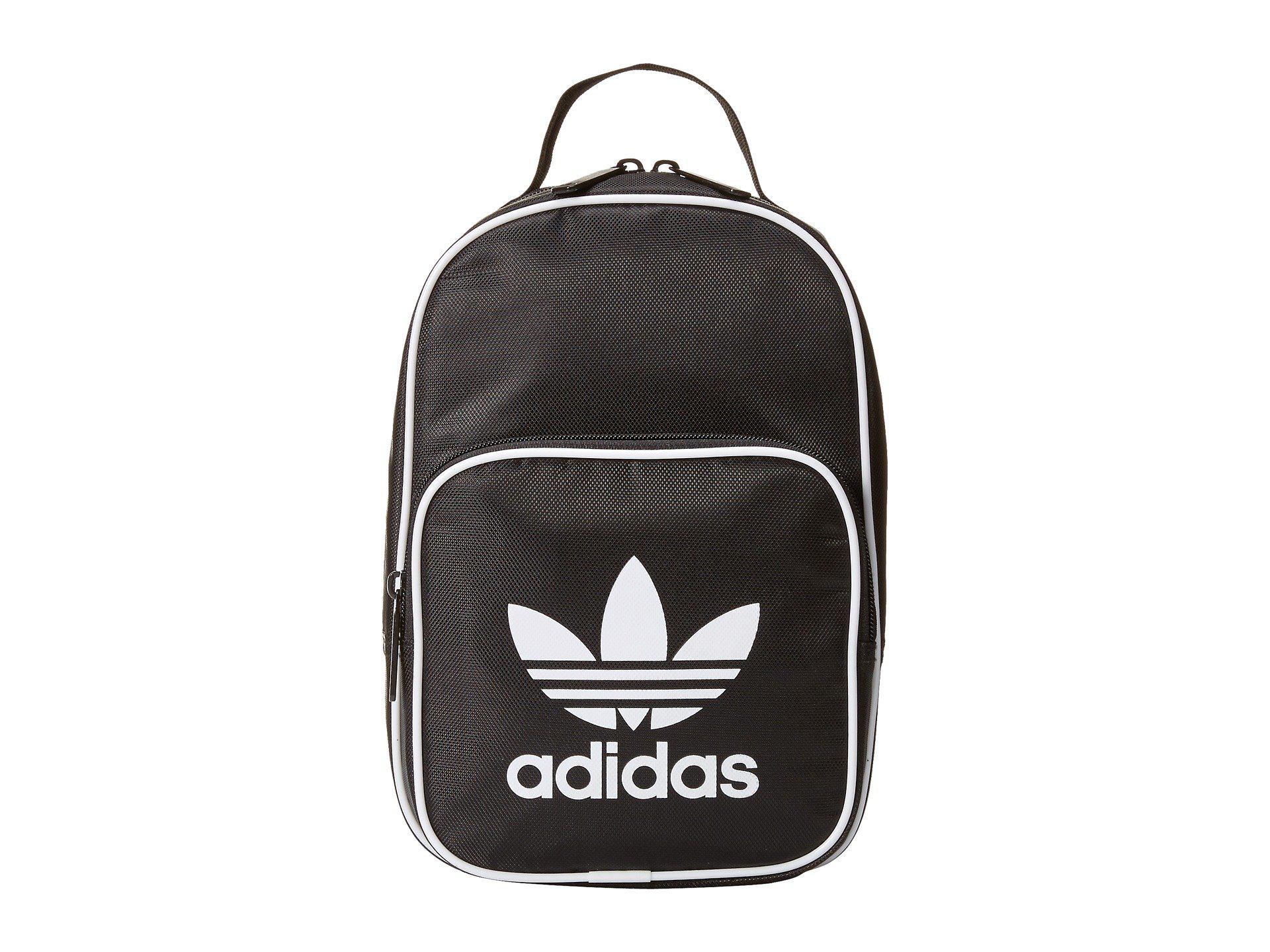 521bc0b7ae adidas Originals. Men s Black Originals Santiago Lunch Bag (collegiate  Burgundy white) Bags