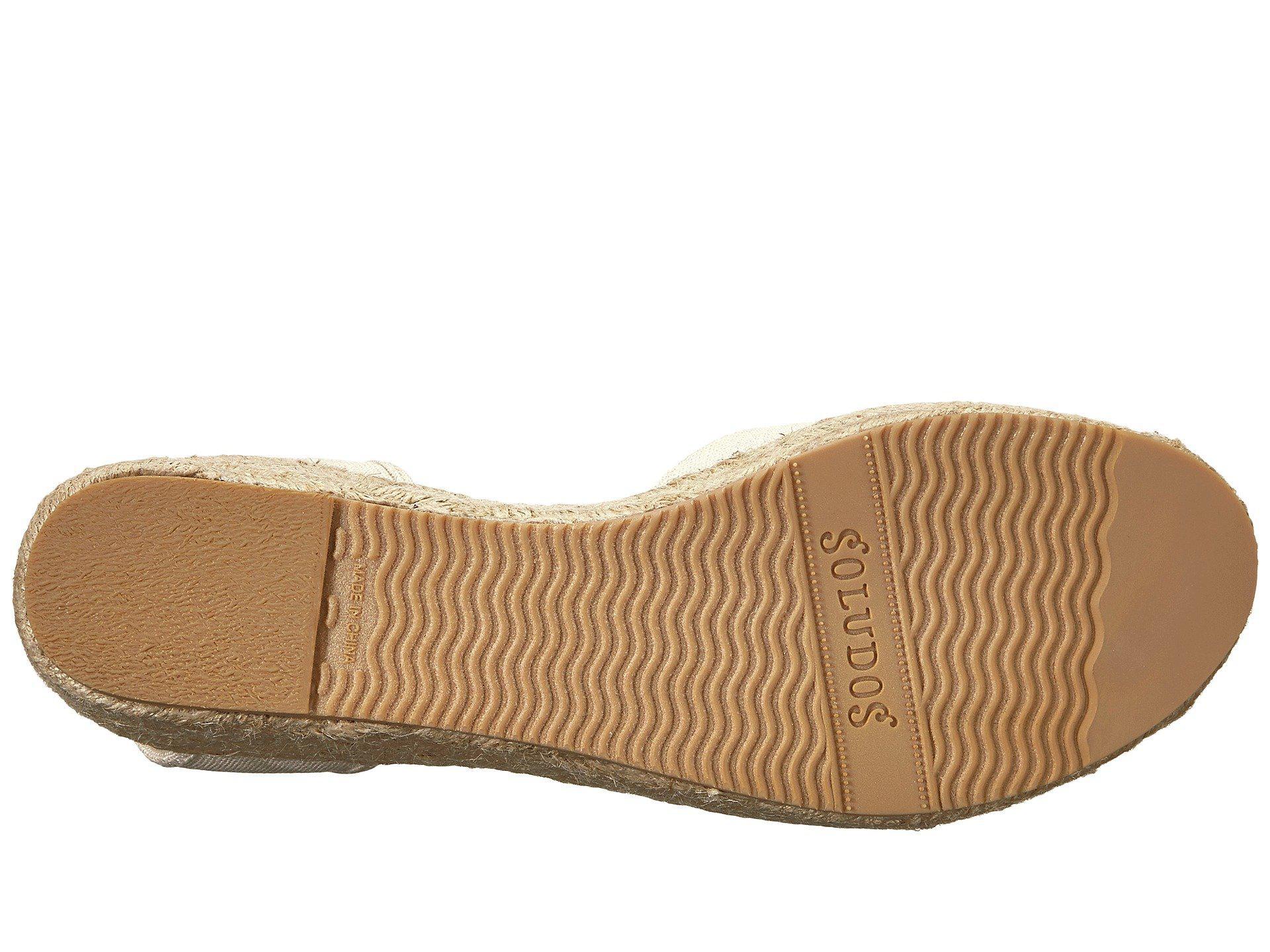 ad00a2d1617 Soludos - Multicolor Open-toe Platform 60mm (blush) High Heels - Lyst. View  fullscreen