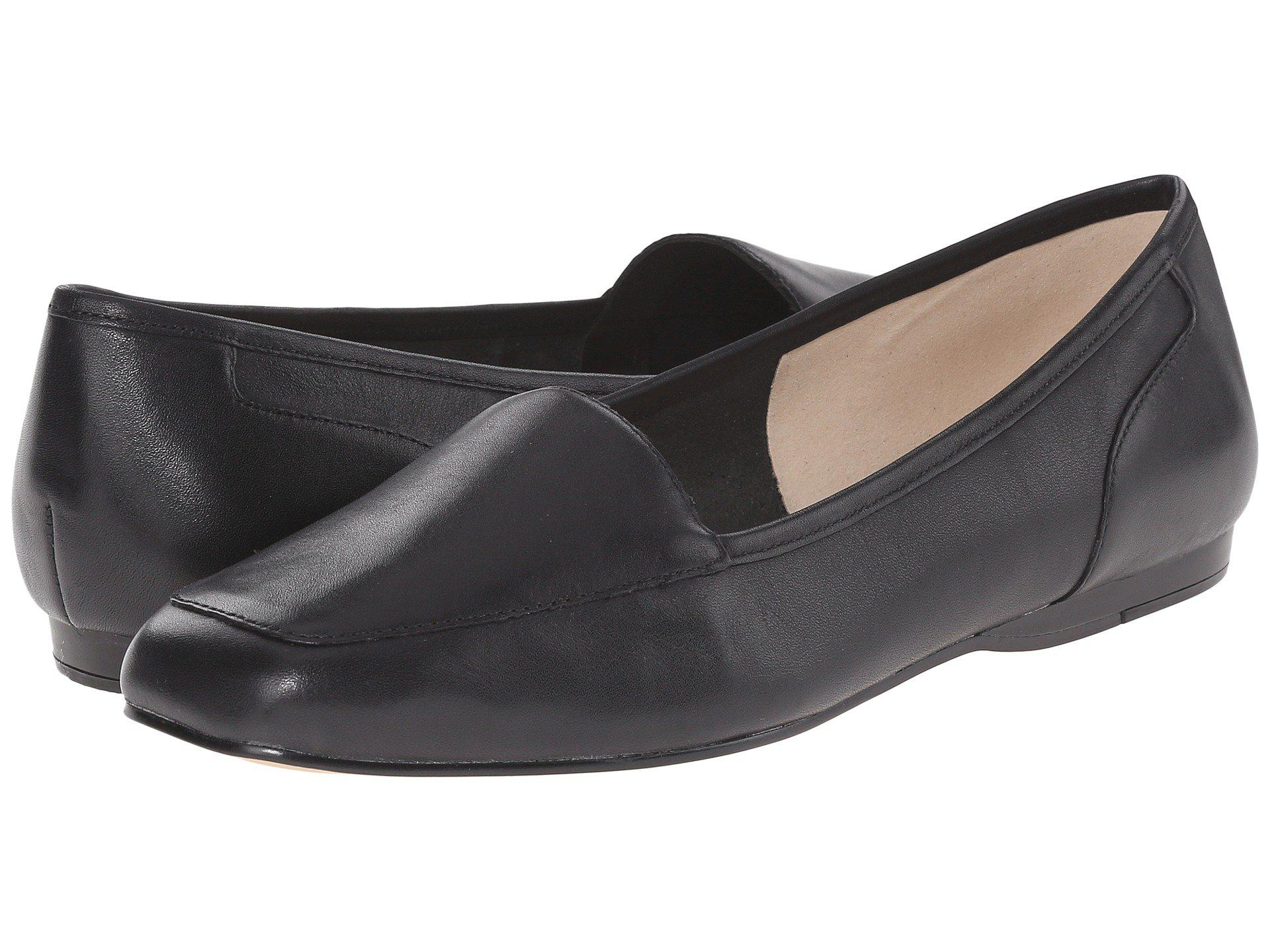 Bandolino Liberty Black Leather Women S Slip On Shoes In