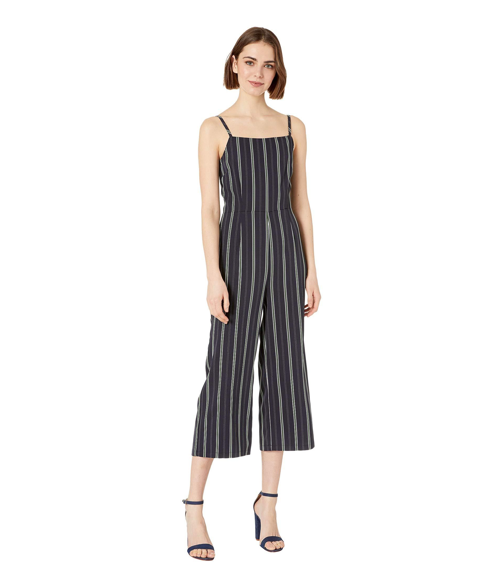 16d51d350bc Lyst - Cupcakes And Cashmere Avery Striped Jumpsuit (ink) Women s ...