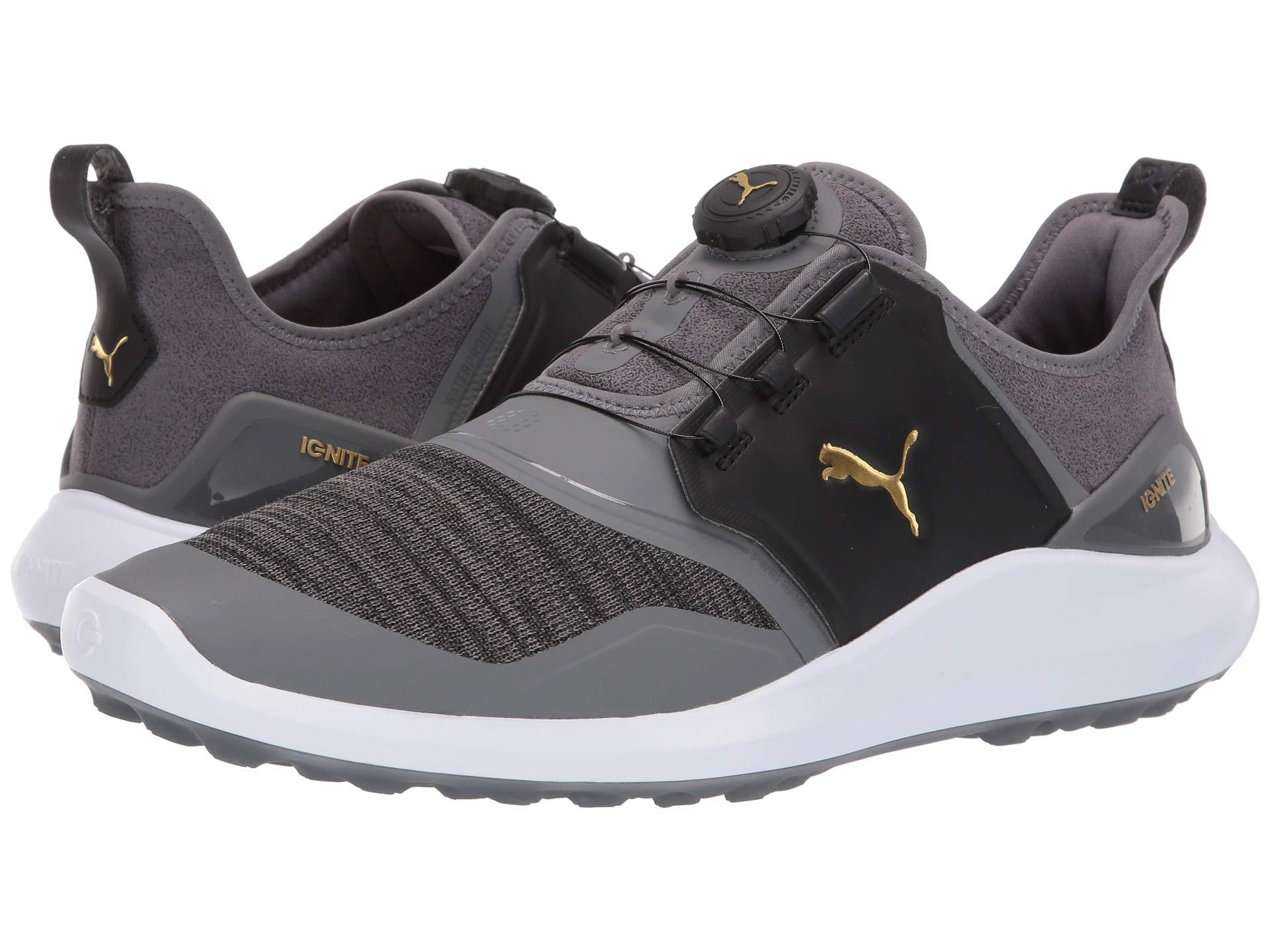 Lyst - PUMA Ignite Nxt Disc (high-rise team Gold white) Men s Golf ... b01ec0e18