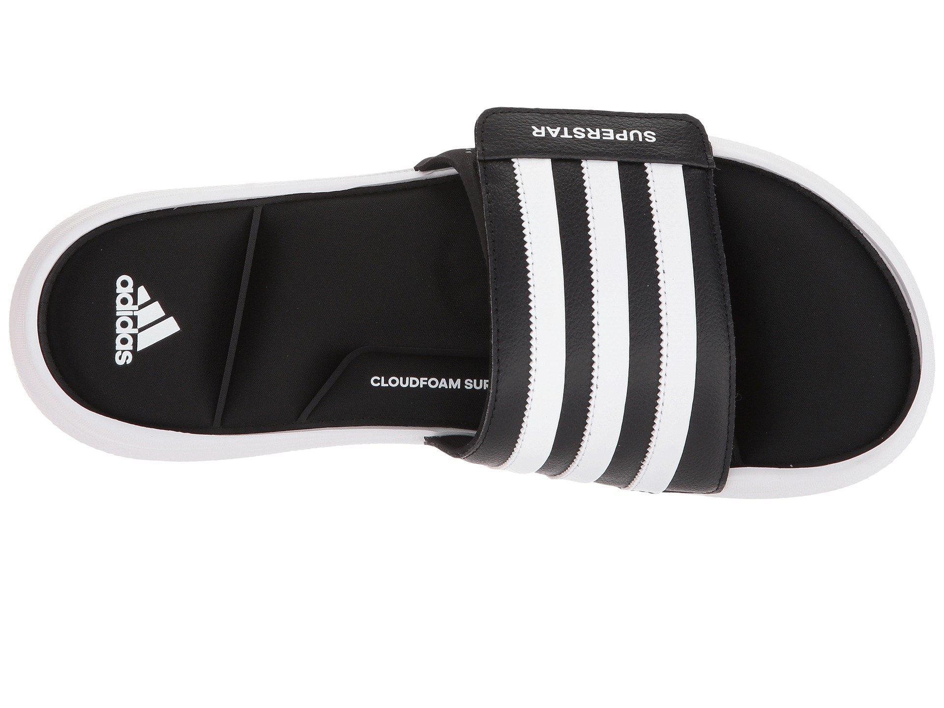 Adidas - Black Superstar 5g Slide Sandal for Men - Lyst. View fullscreen 1201205ca