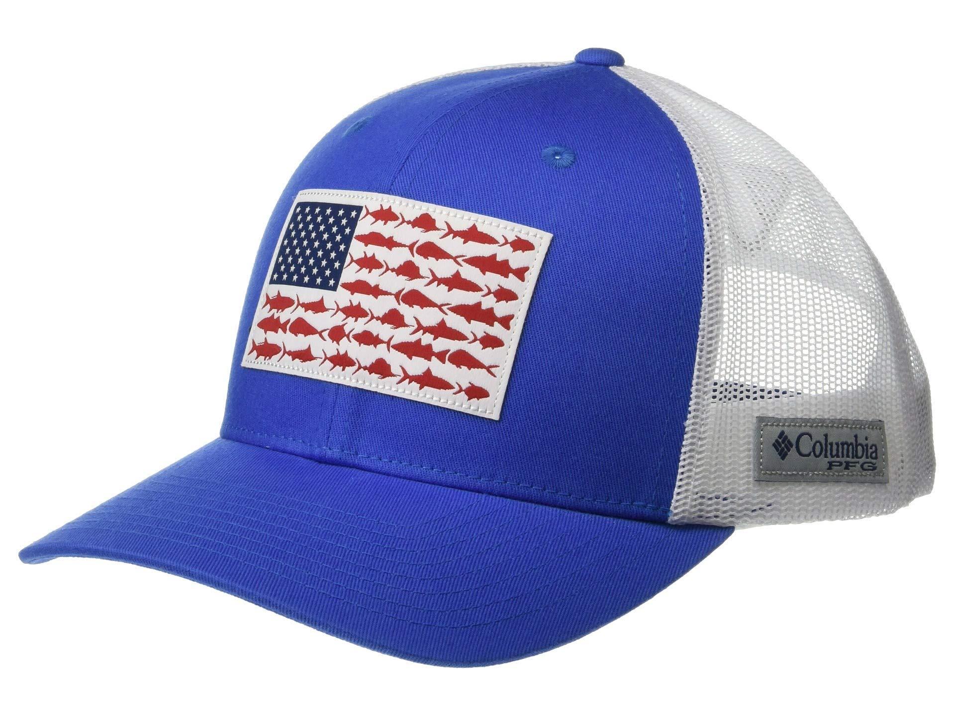 lyst columbia pfg meshtm snapback fish flag ball cap collegiate rh lyst com  Columbia Navy Vest e75d07c913c