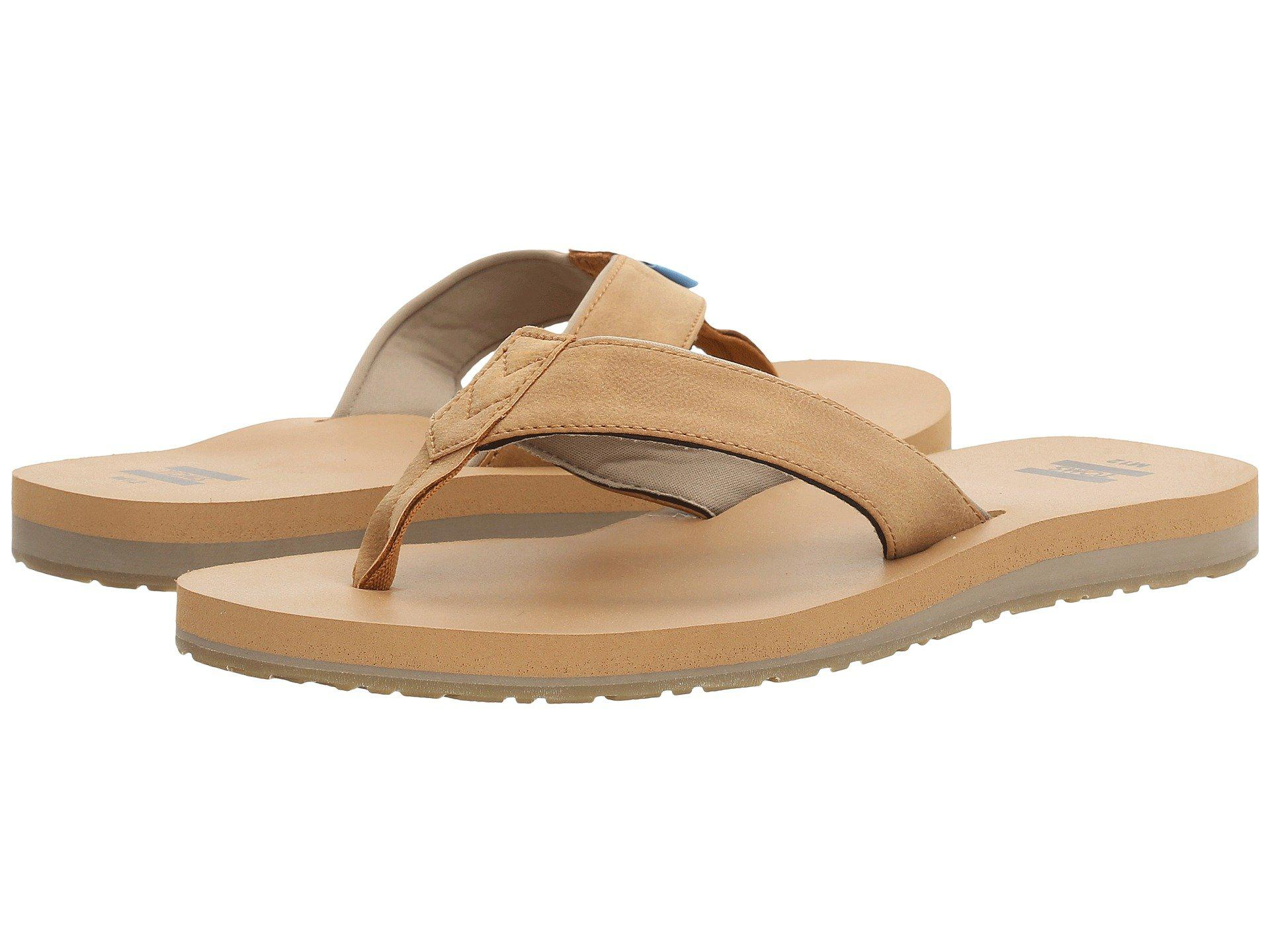 0a3f88774616 TOMS - Carilo Flip Flop (toffee Brown) Men s Sandals for Men - Lyst. View  fullscreen