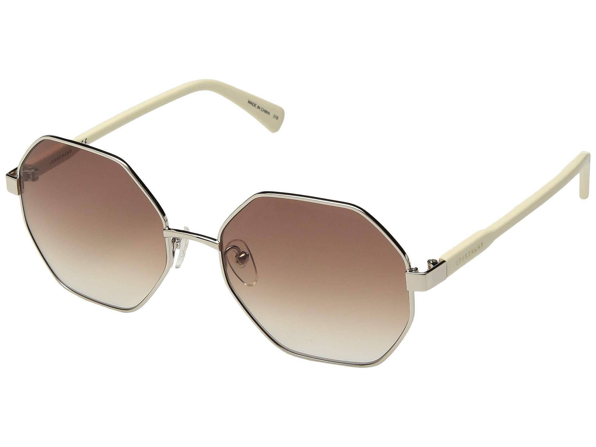 4cbc991f1b5 Longchamp. Women s Brown Lo106sl (deep Gold gradient Green orange) Fashion  Sunglasses