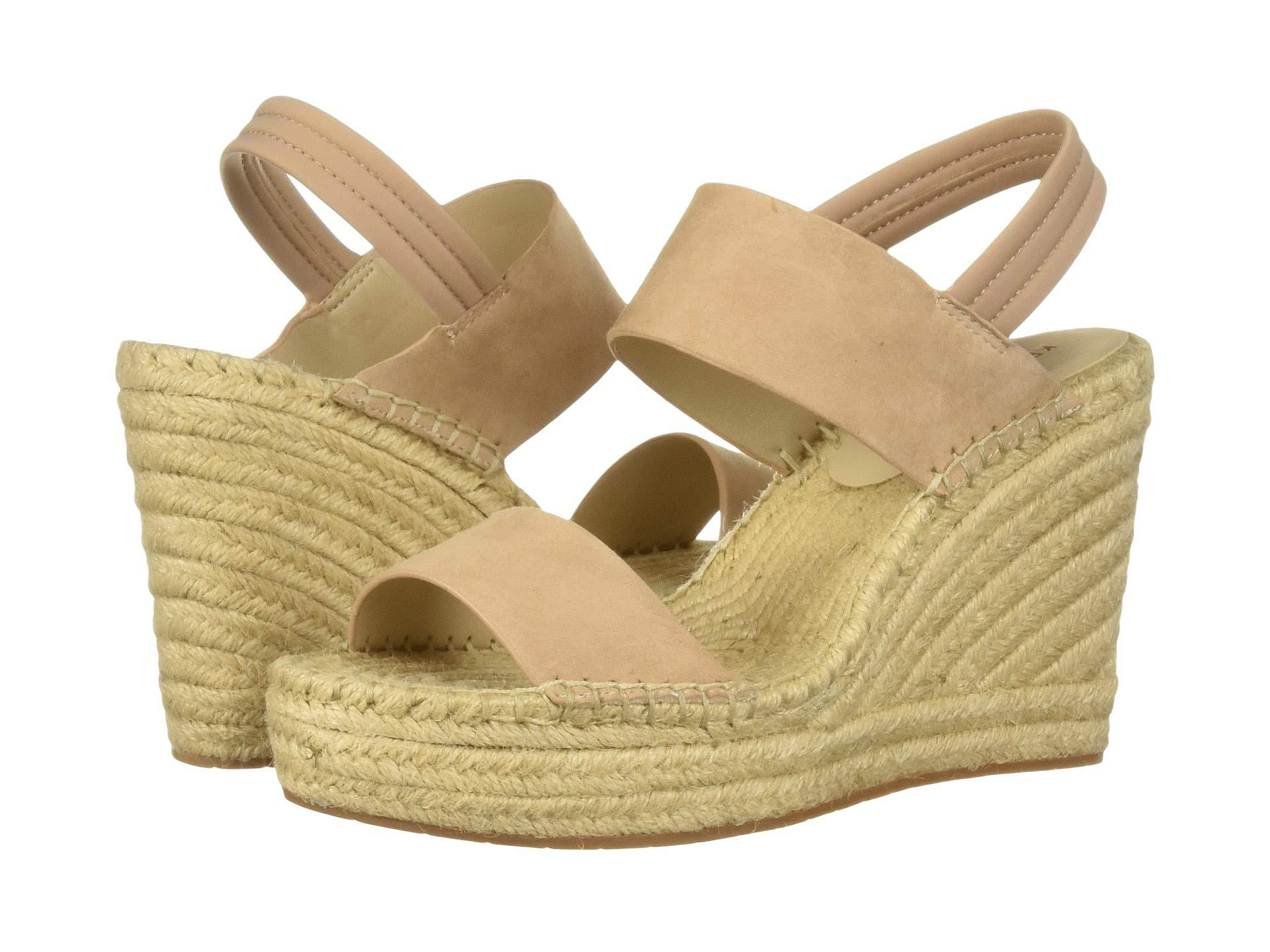 746219d5992 Lyst - Kenneth Cole Olivia Simple Espadrille (buff Suede) Women s Shoes