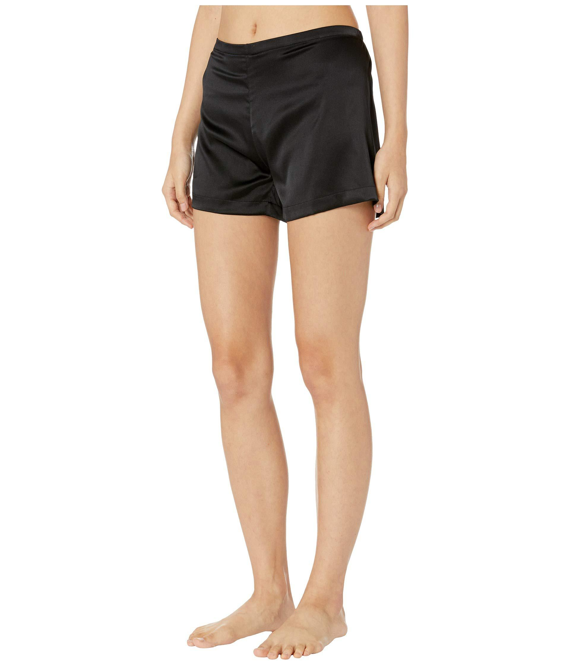 Lyst - La Perla Silk Reward Shorts (black) Women s Underwear in Black fb852b875