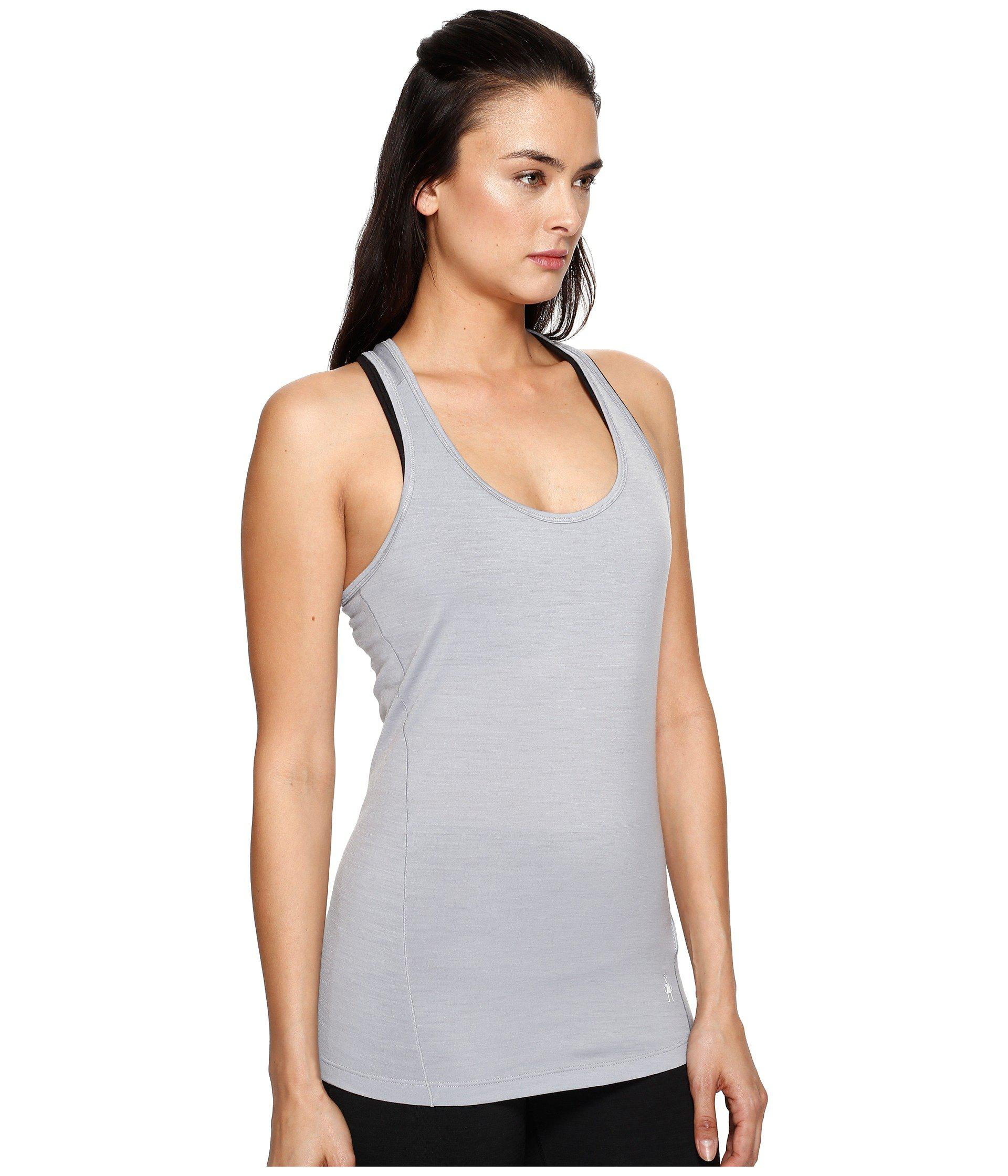 5c1e32bae766d Lyst - Smartwool Merino 150 Baselayer Pattern Tank Top in Gray