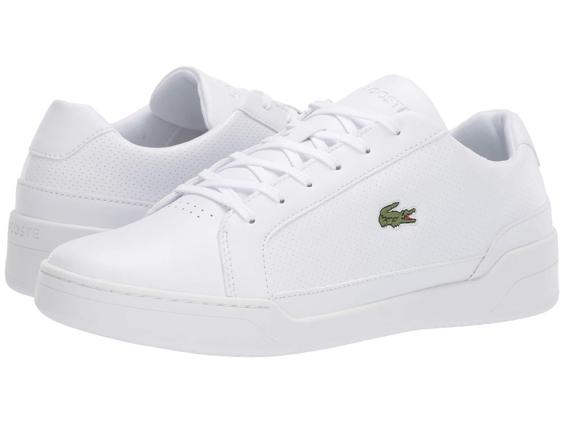 74e0f8e5d Lyst - Lacoste Challenge 119 2 Sma (grey white) Men s Shoes in White ...