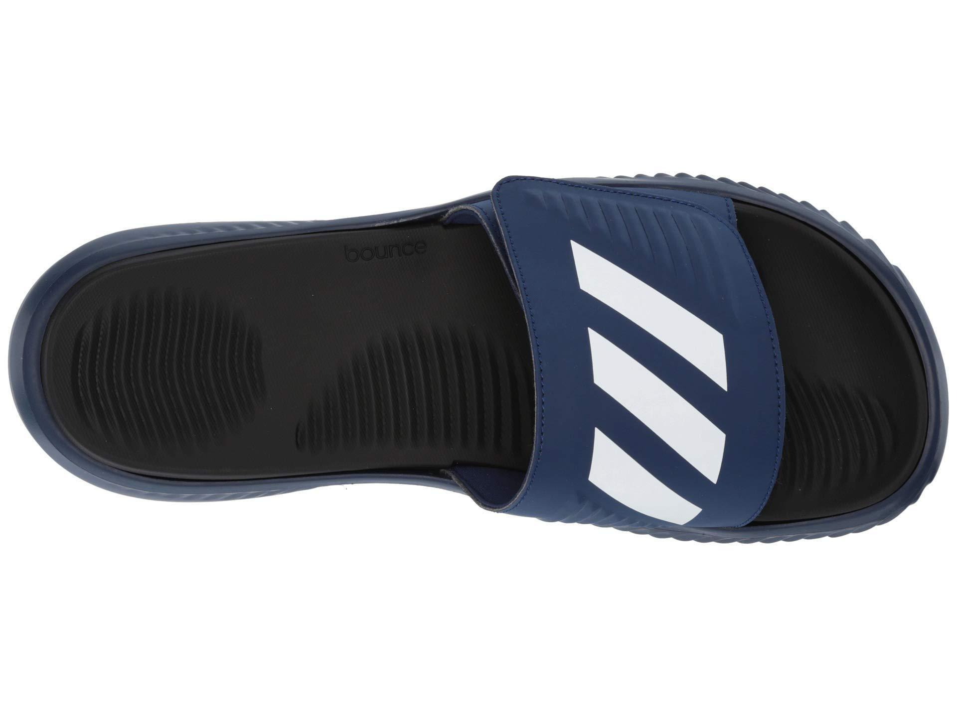 e843899614dd8e Lyst - adidas Alphabounce Basketball Slides (dark Blue footwear ...