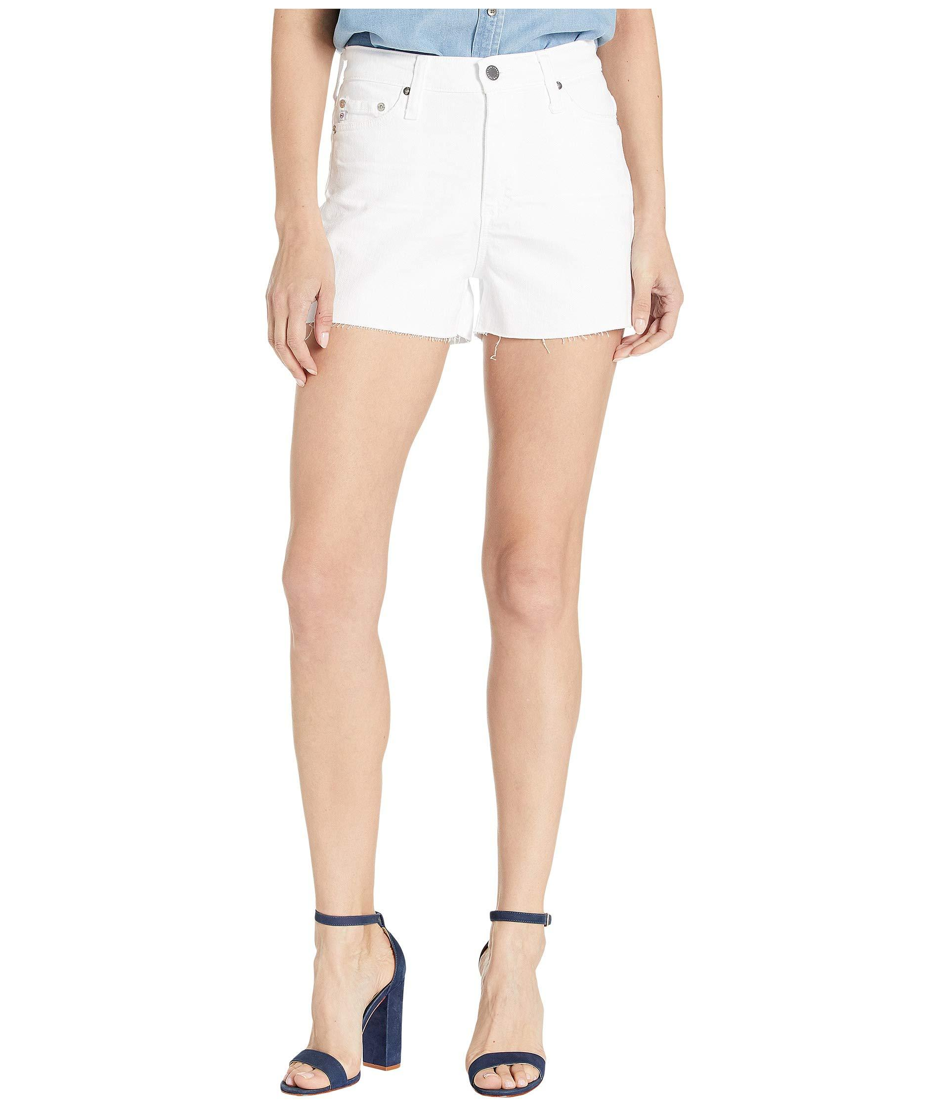 078b922f7 AG Jeans Mikkel Shorts In 1 Year Optic White (1 Year Optic White ...
