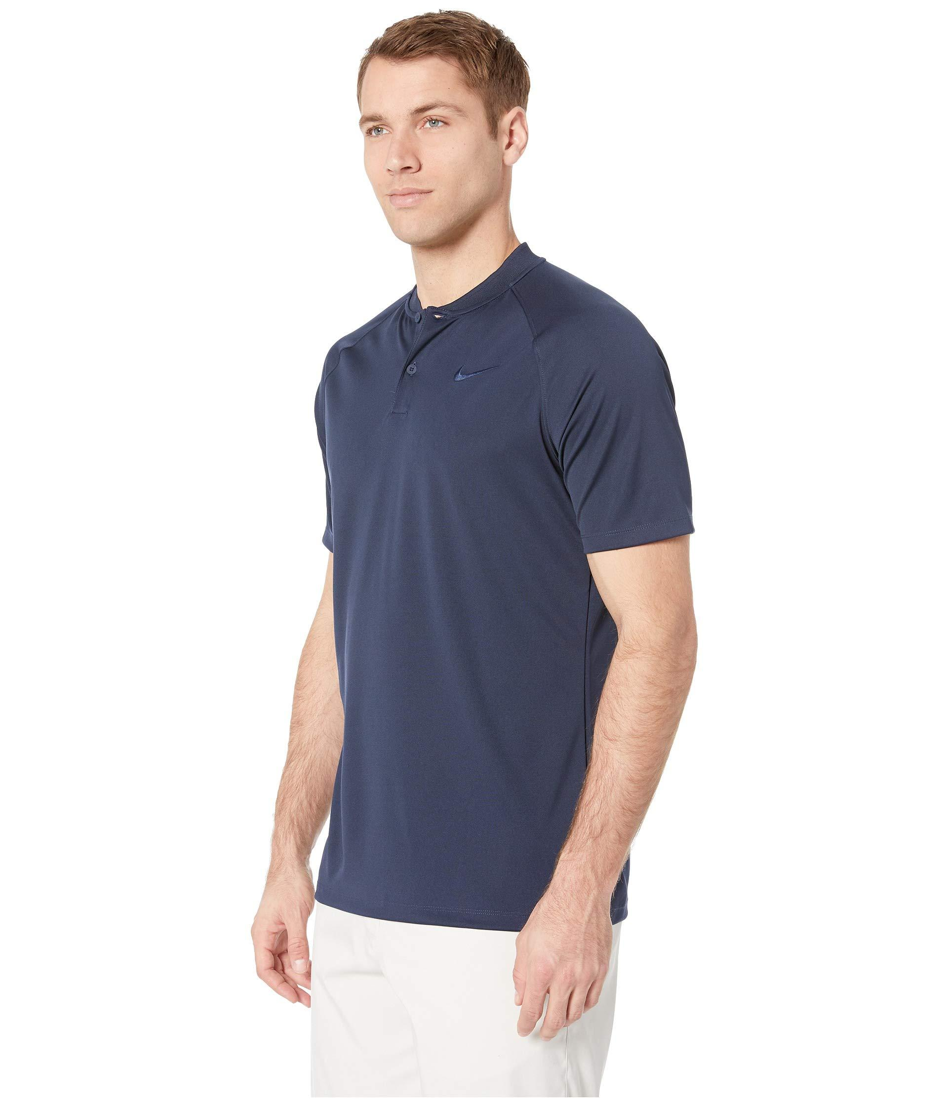 9f496d8f Lyst - Nike Victory Blade Polo (college Navy/college Navy/white) Men's  Clothing in Blue for Men