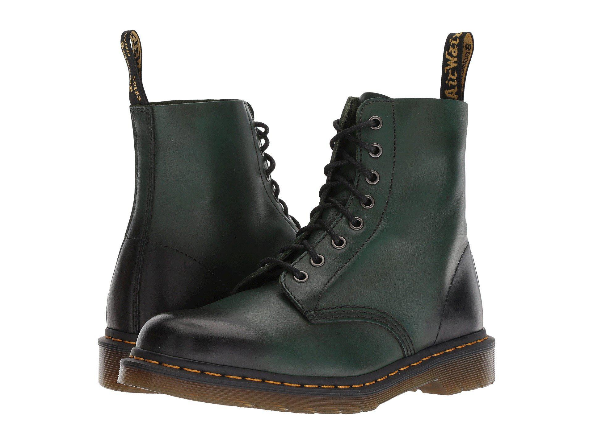 22da09593b Dr. Martens 1460 Pascal Core (green Antique Temperley) Boots in ...