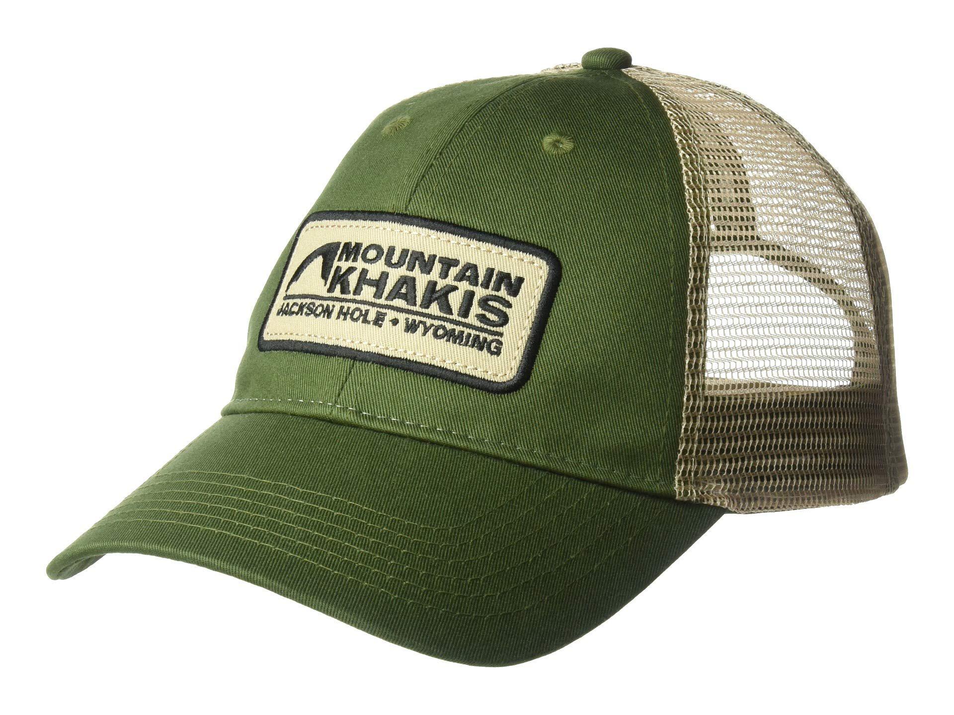 143289f7a0a Lyst - Mountain Khakis Soul Patch Trucker Cap (indigo) Caps in Green ...