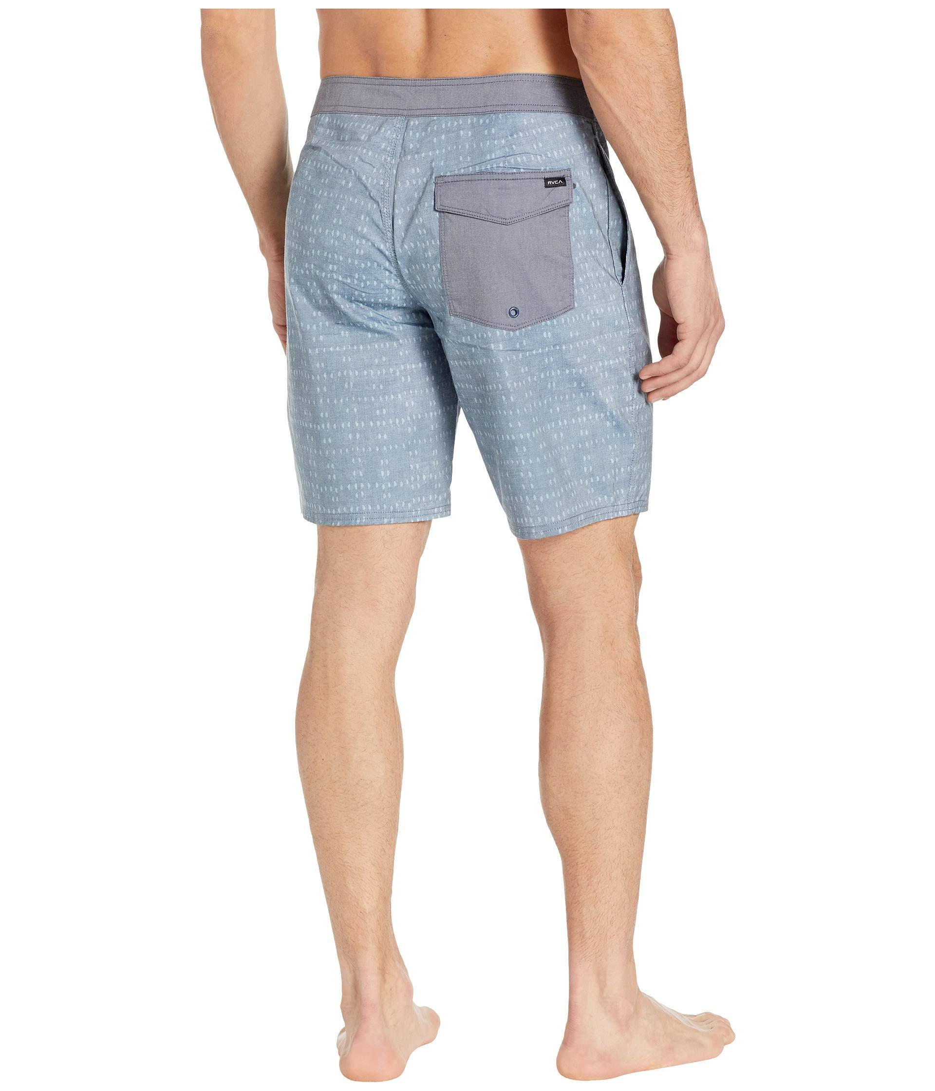 4782b12dcab3e RVCA - Blue Nakama Trunk 19 (denim) Men's Swimwear for Men - Lyst. View  fullscreen