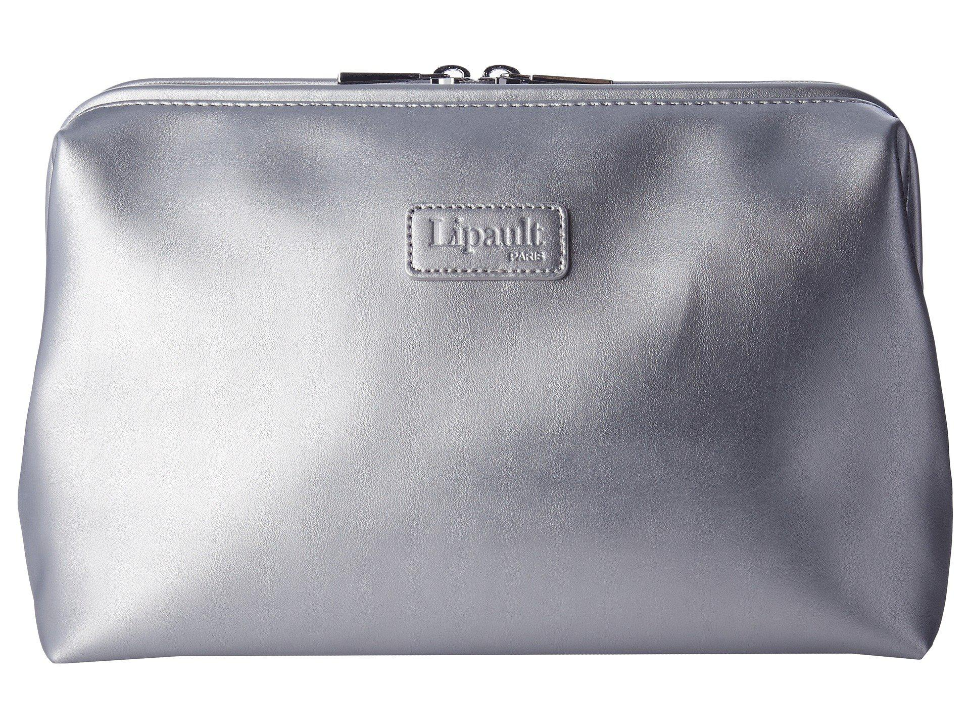 Lipault Paris Miss Plume Toiletry Kit (Silver) Toiletries Case p7CSEhfi9