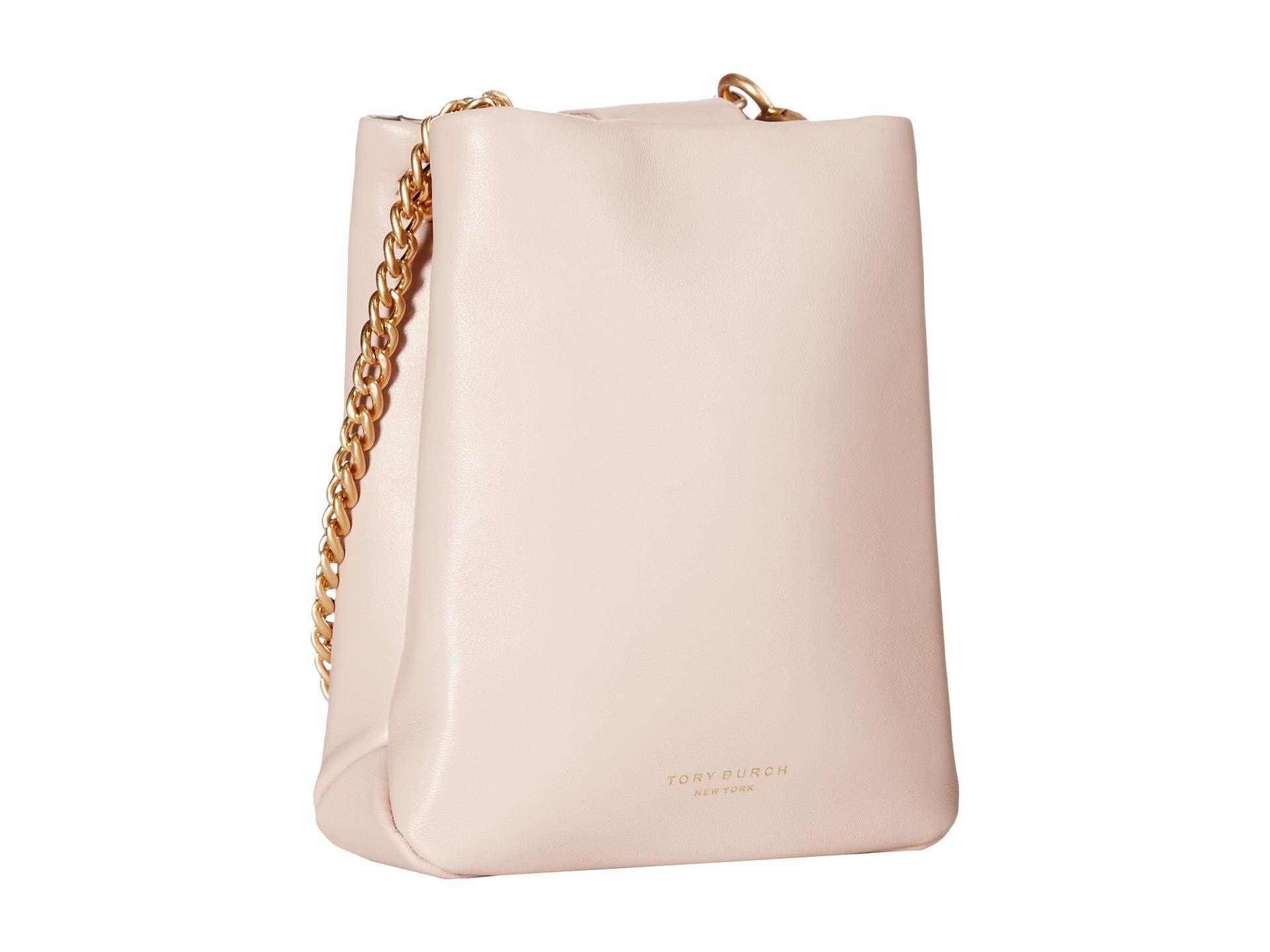 375d83bd3 Tory Burch Greer Phone Crossbody (shell Pink) Cross Body Handbags in ...