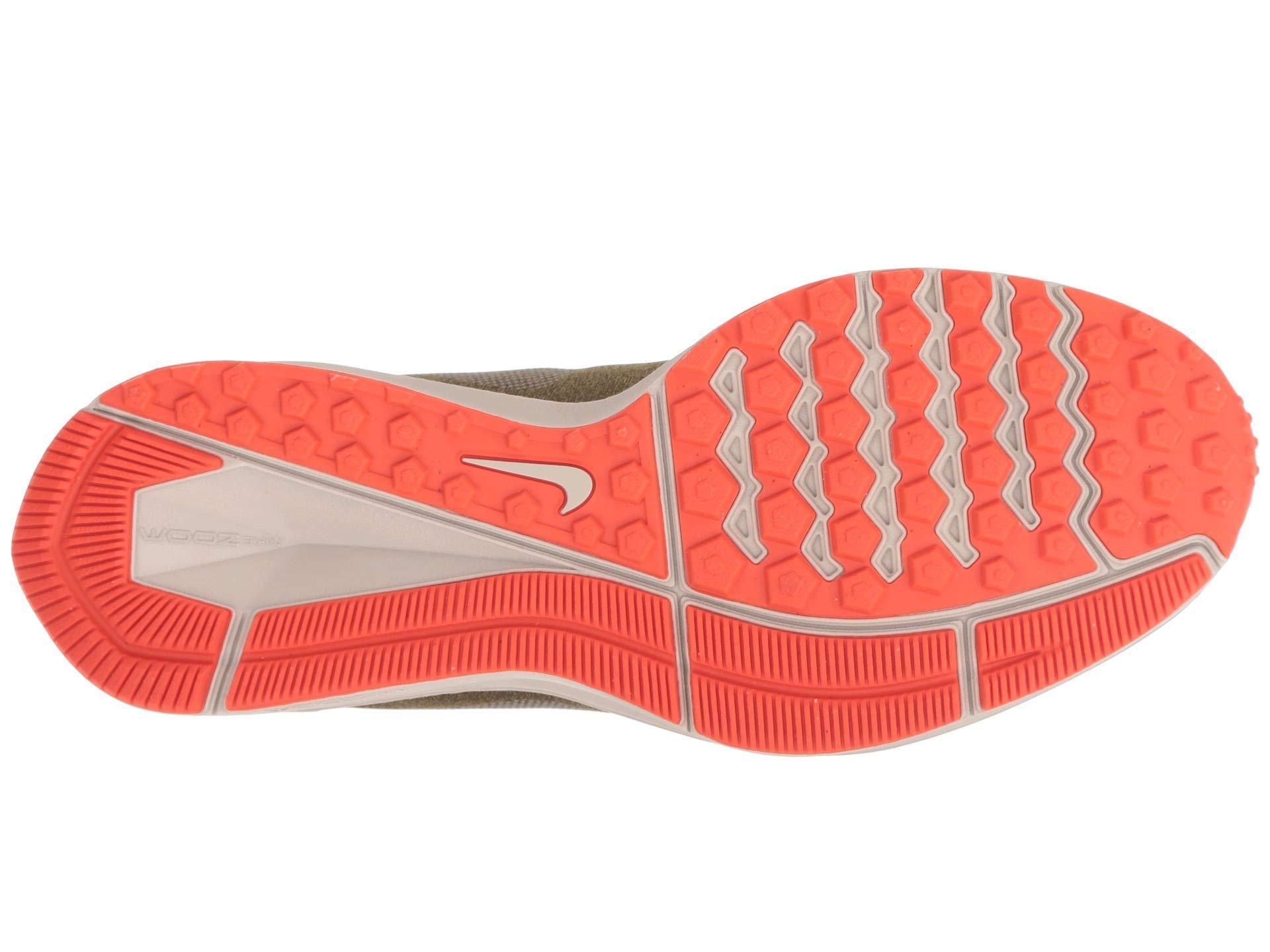 5cc2758ce11f Nike - Air Zoom Winflo 5 Run Shield (olive Flak metallic Silver string.  View fullscreen
