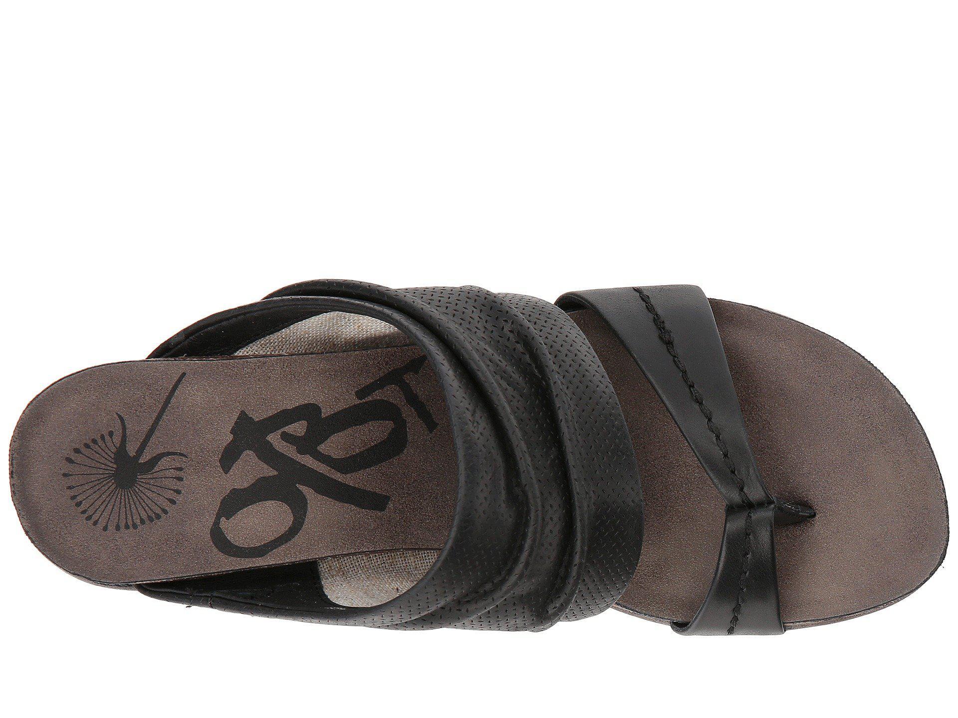 0a2fc91994e Otbt - Black Tailgate Platform Sandals - Lyst. View fullscreen