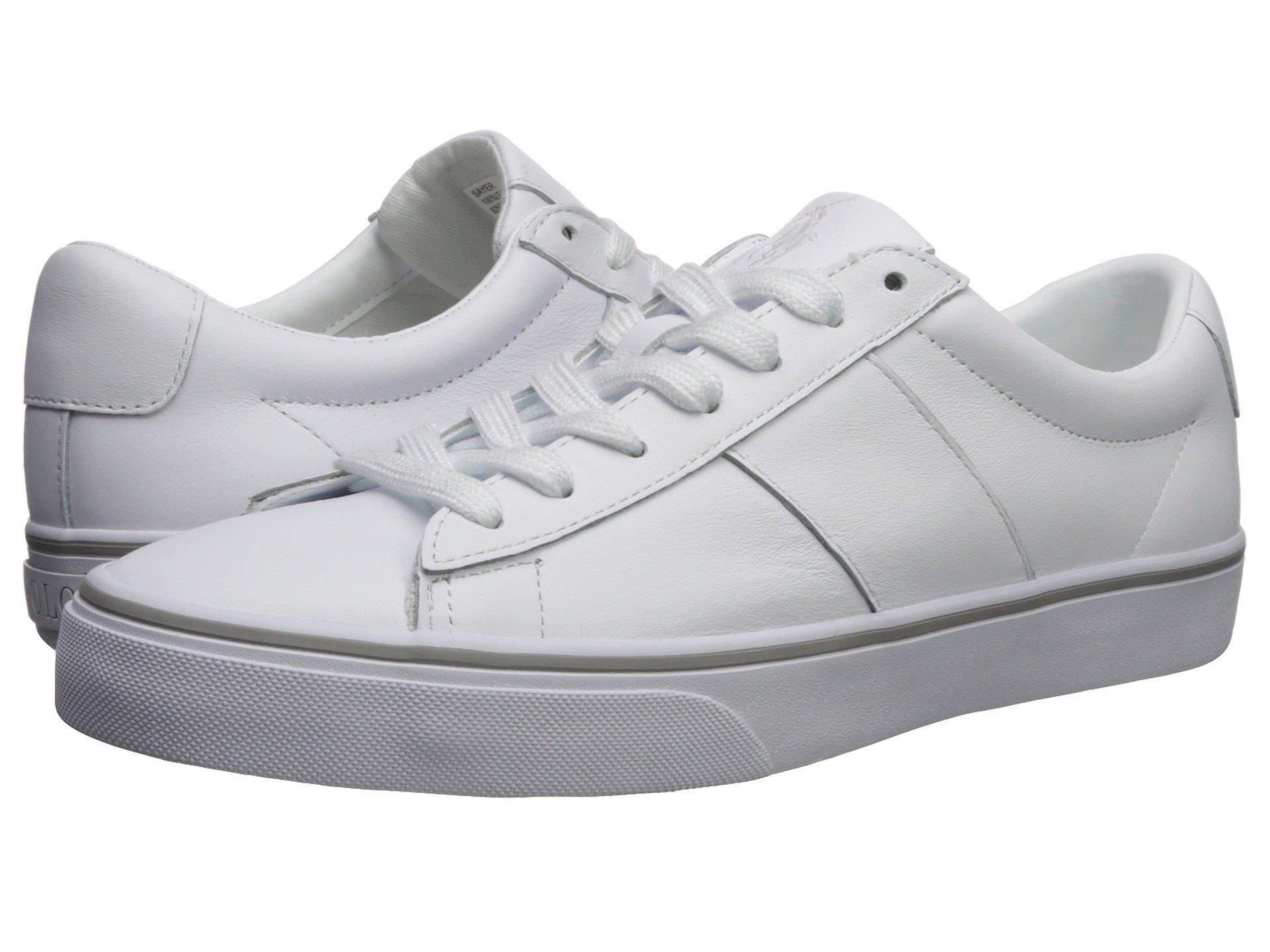 79b70f5848aa Lyst - Polo Ralph Lauren Sayer (ralph Lauren 2000 Red) Men s Shoes ...
