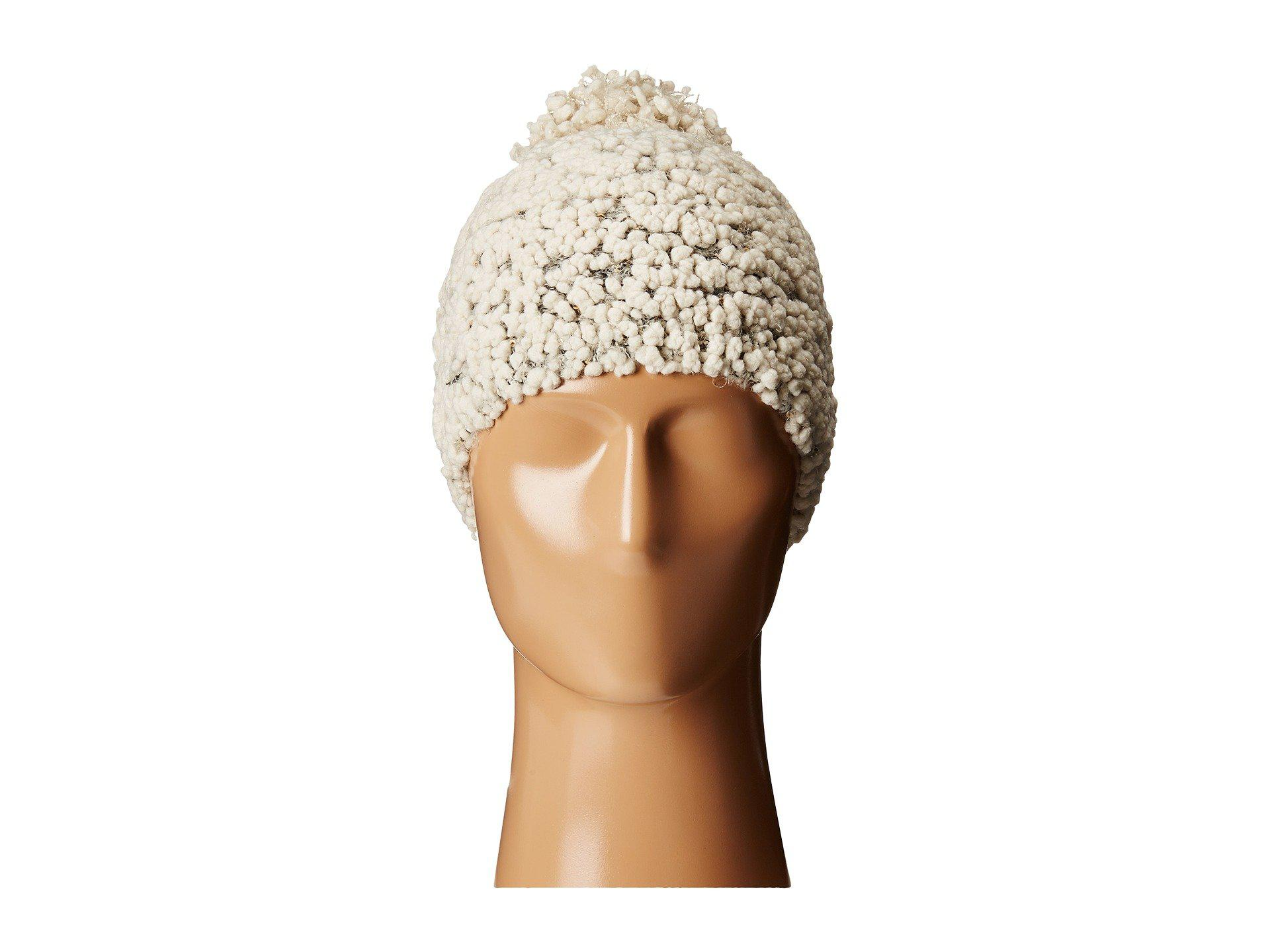 5386ca2f0ea Lyst - San Diego Hat Company Knh3370 Textured Beanie With Gold ...