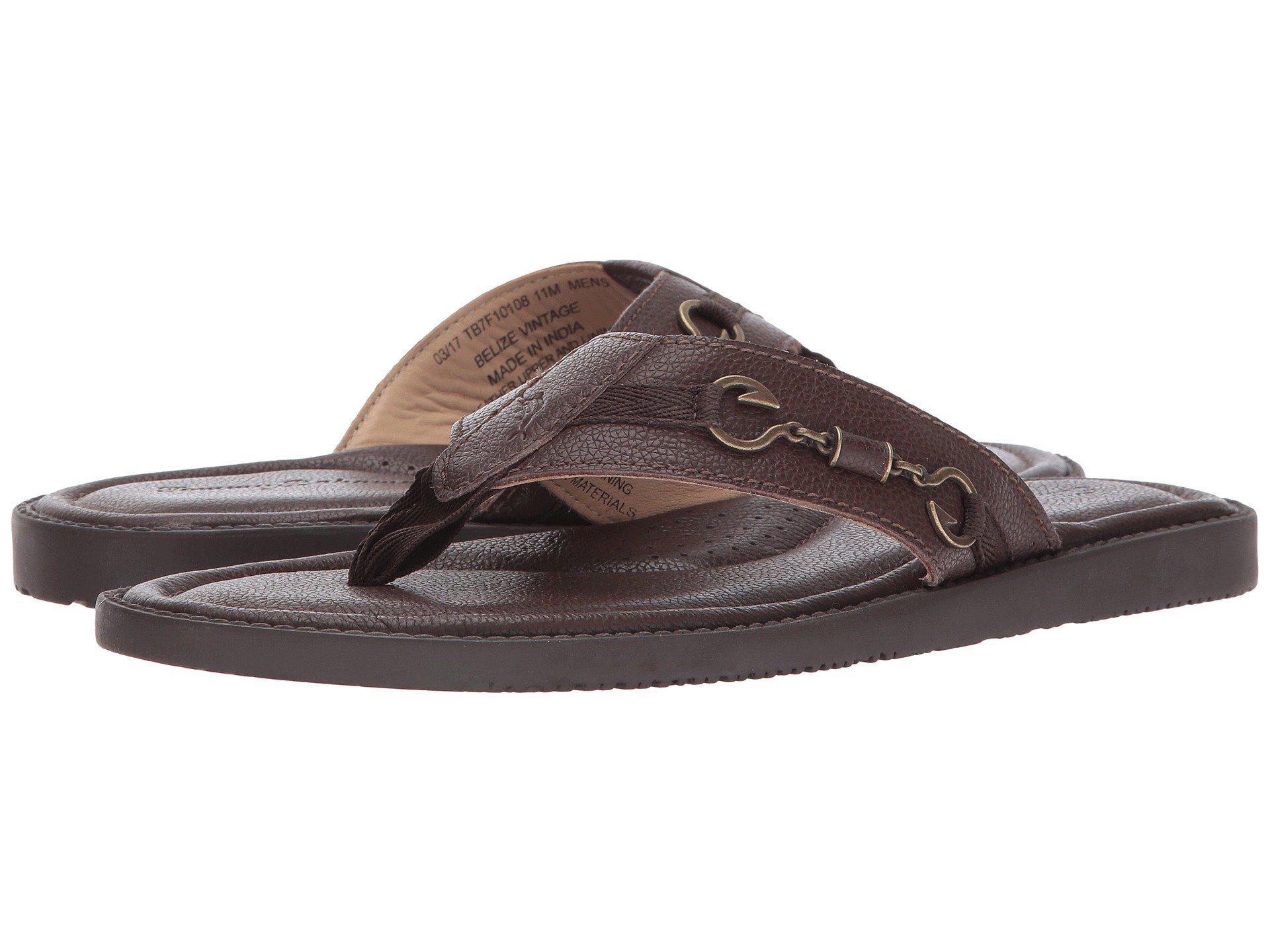 d2aa041dc5259 Lyst - Tommy Bahama Belize Vintage (black) Men s Sandals in Brown ...