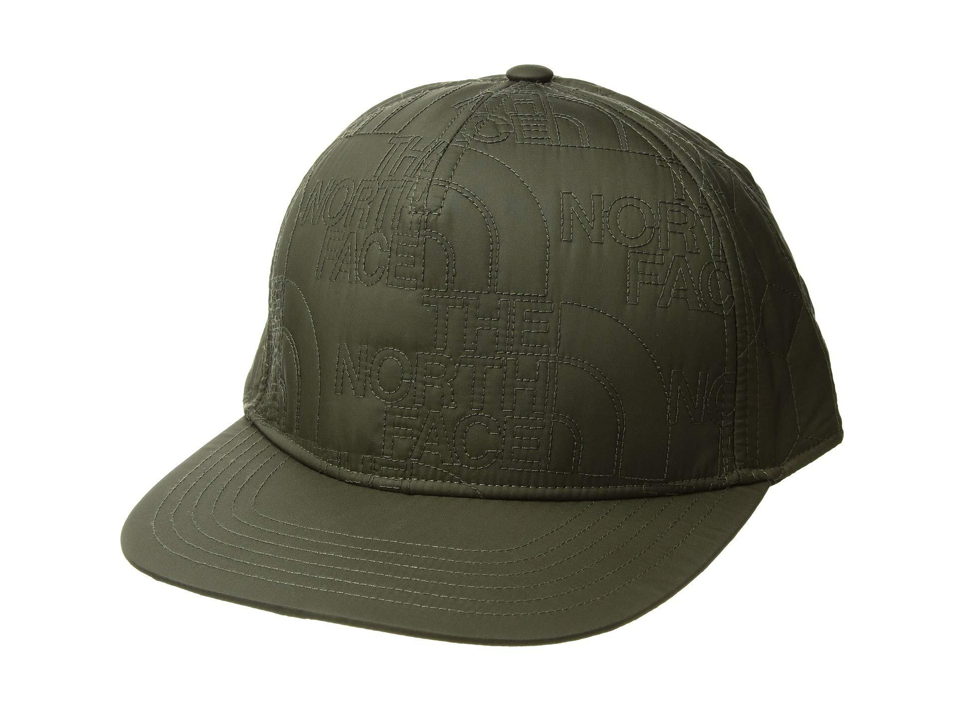 720eb8dd0b4 Lyst - The North Face Quilted Cap (urban Navy) Caps in Green for Men