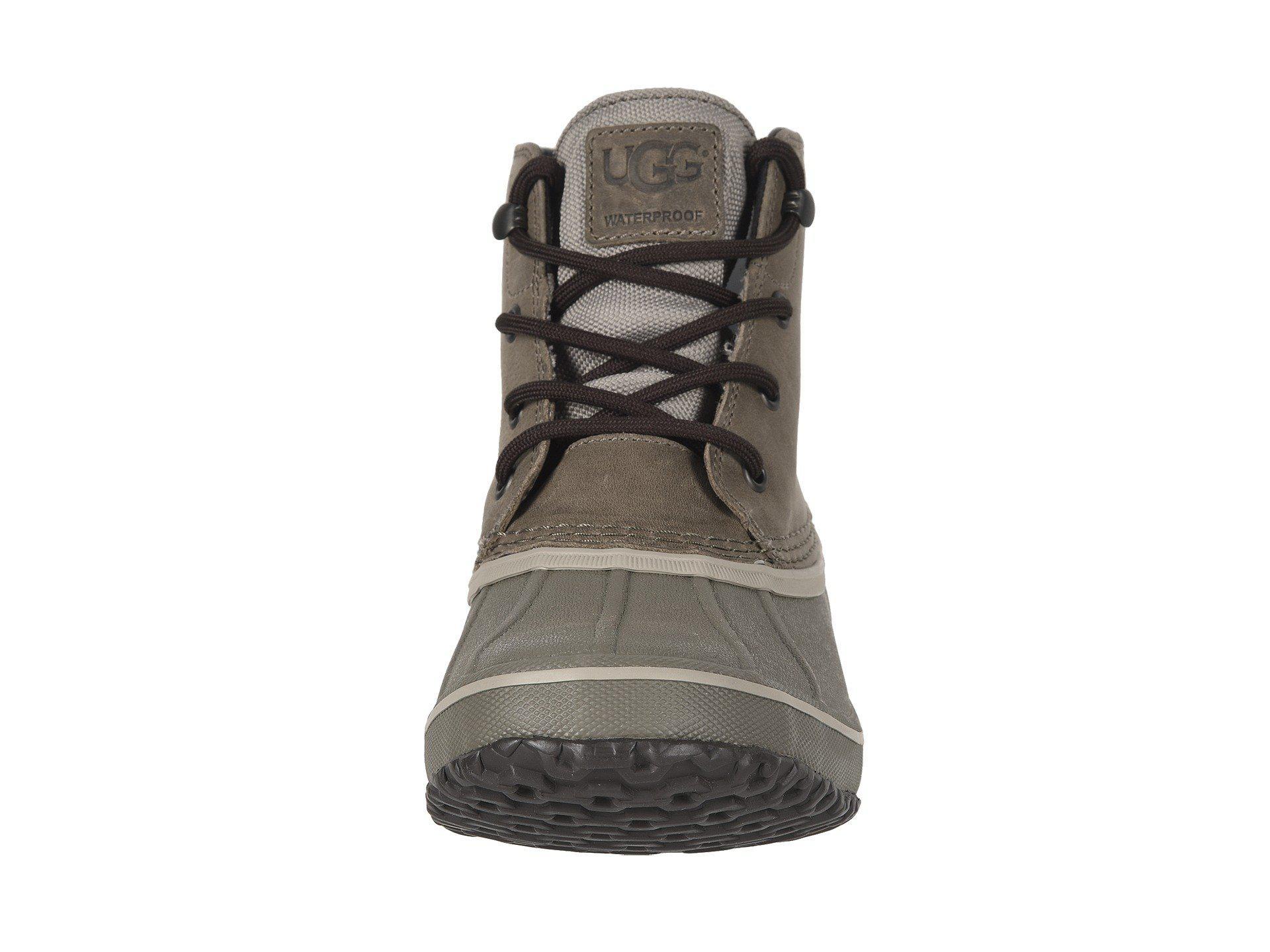 4af87c603c5 Lyst - UGG Zetik Waterproof (chestnut) Men's Shoes in Black for Men