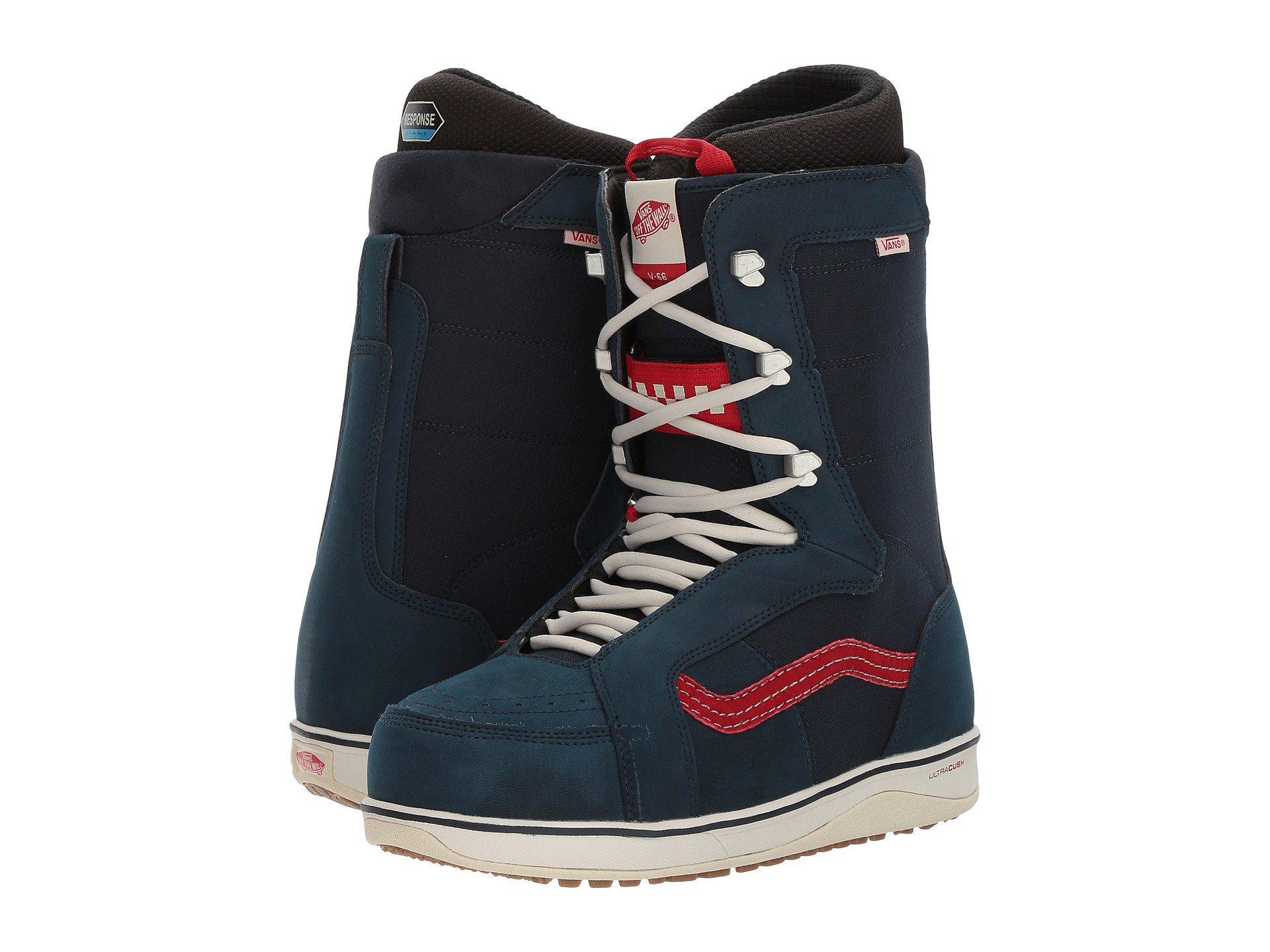 3d7f4877254 Lyst - Vans V-66 (black black) Men s Snow Shoes in Blue for Men