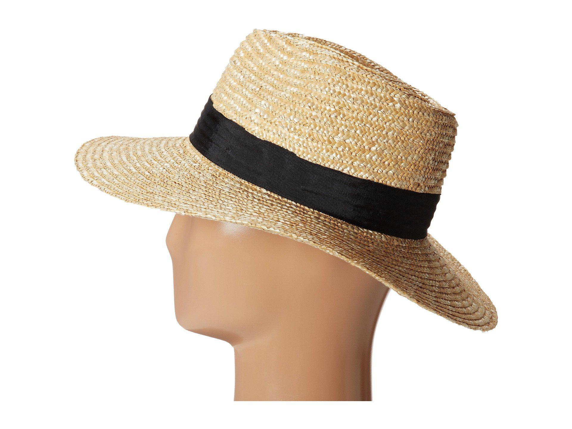 2072311a13a Lyst - Brixton Joanna Hat (bronze olive tan) Caps