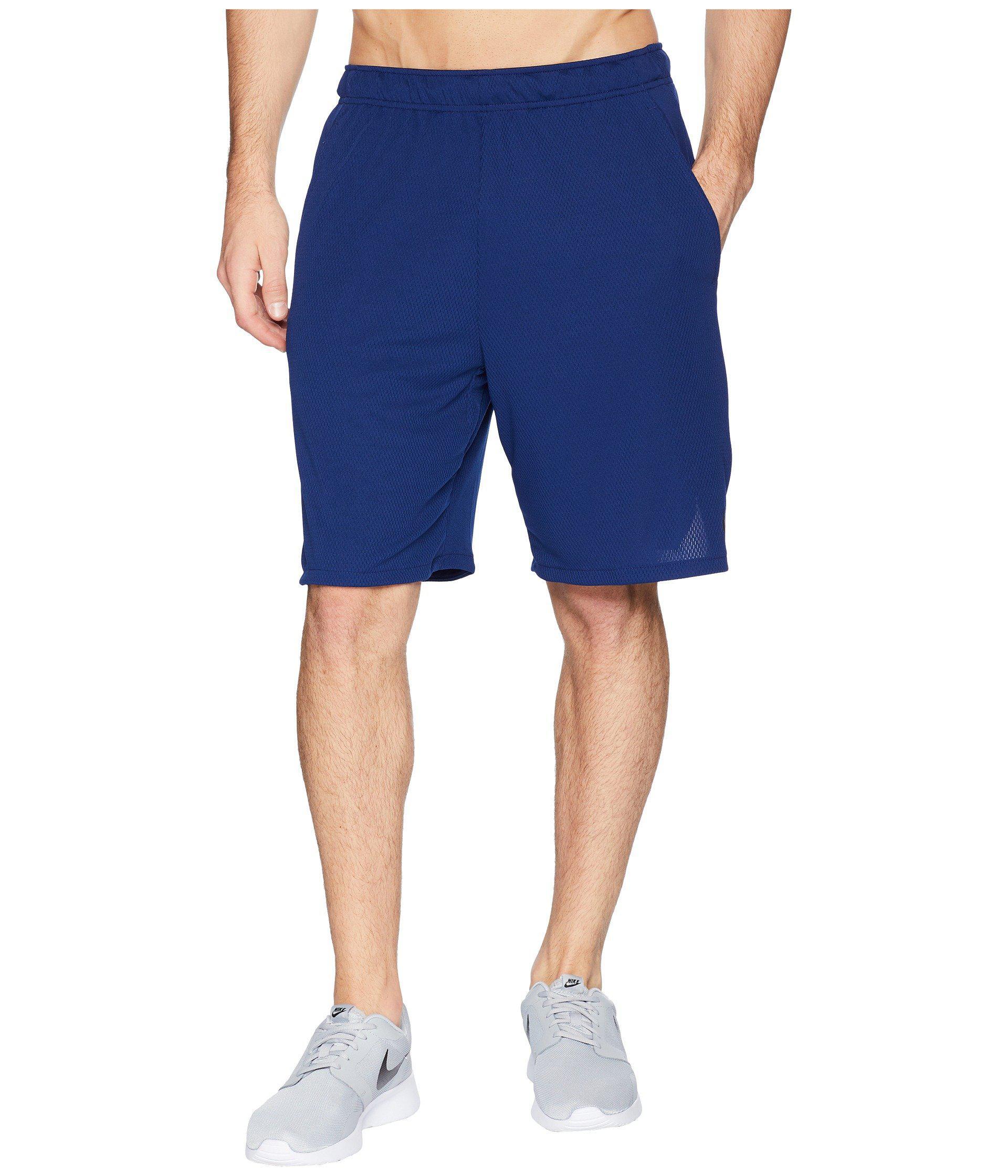 e97e68589949a Lyst - Nike Dri-fit 9 Training Short (anthracite/black) Men's Shorts ...
