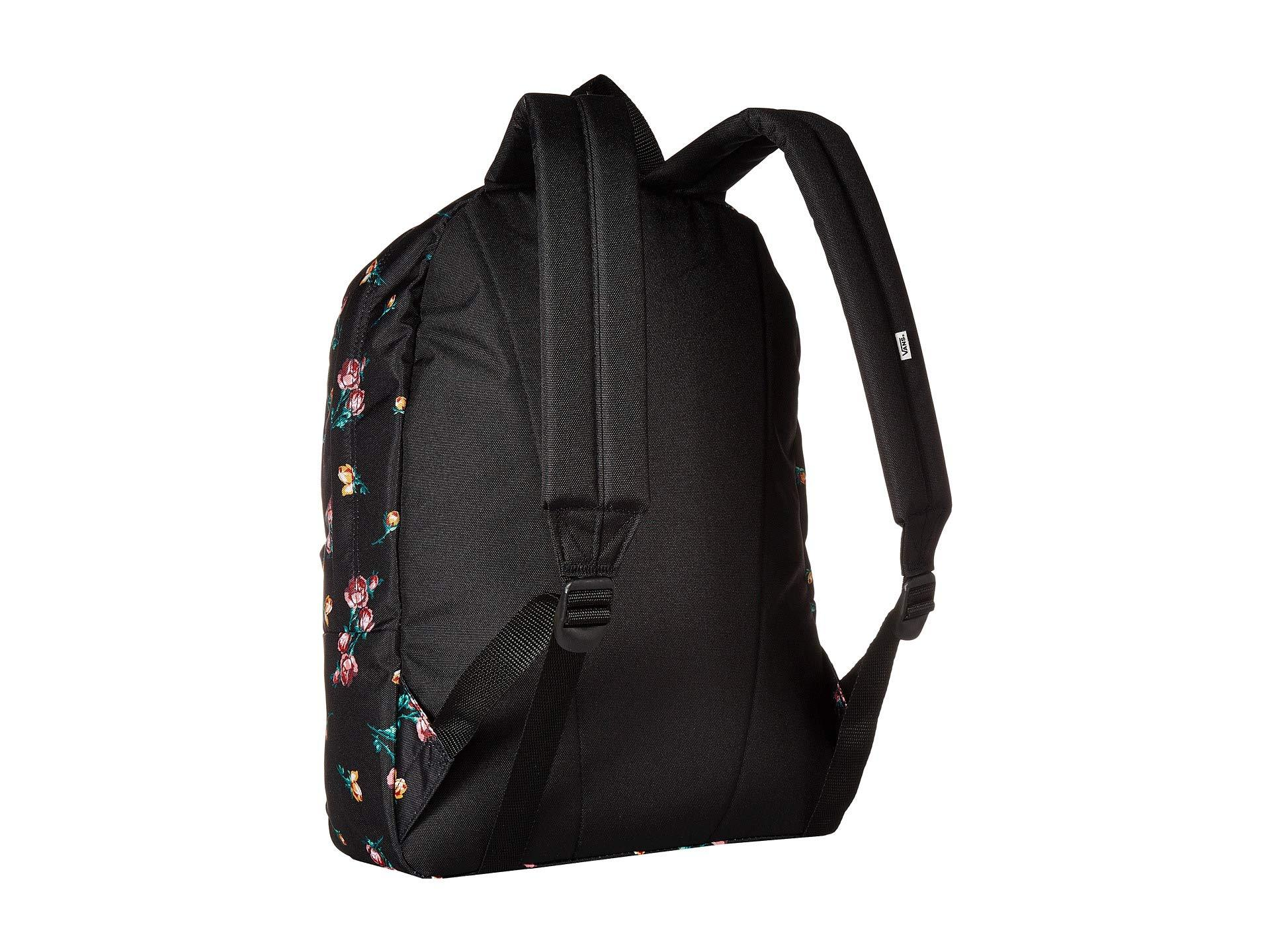 Vans - Black Realm Backpack (satin Floral) Backpack Bags - Lyst. View  fullscreen 14205e8dfbd69