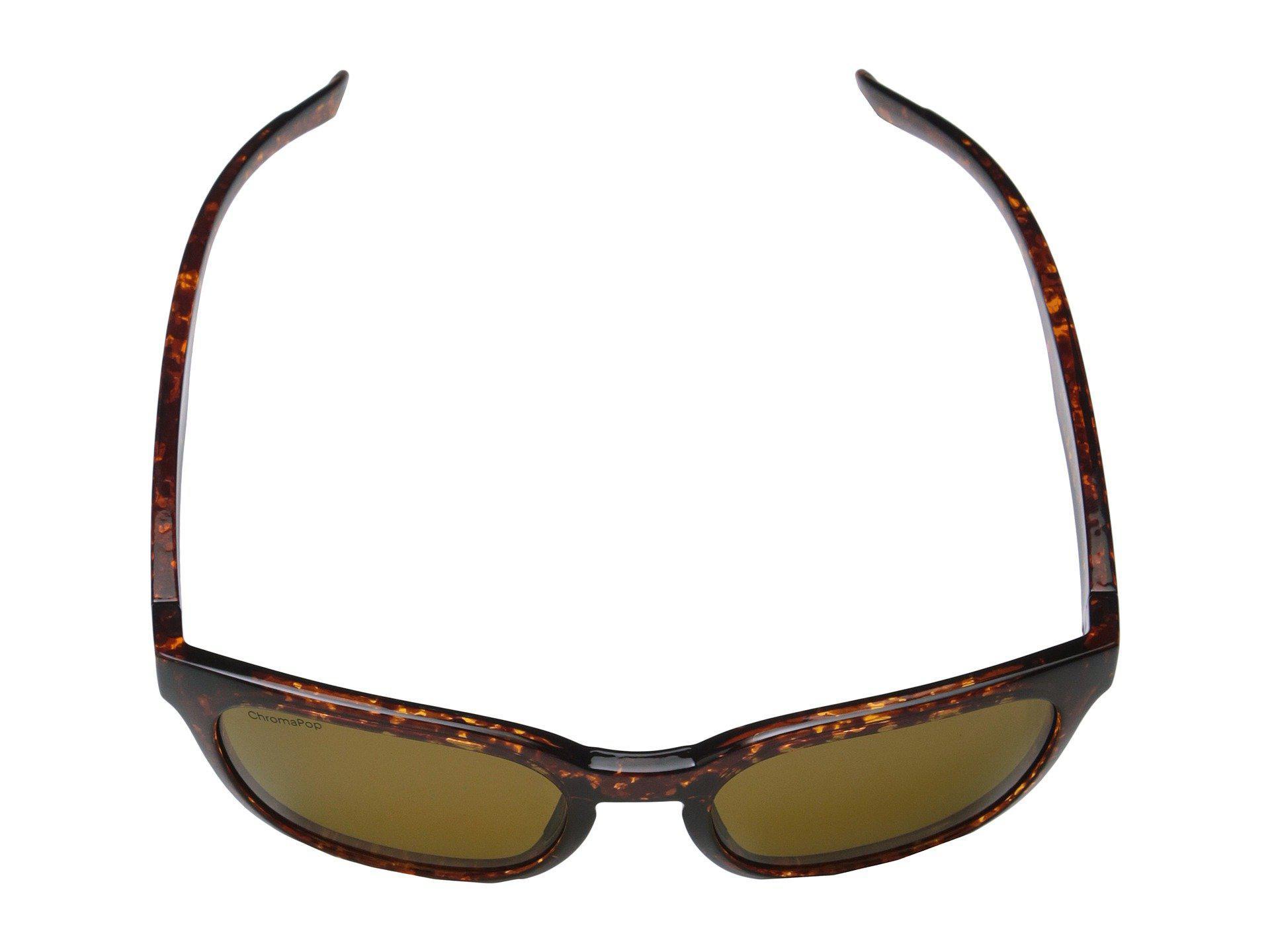 bad69c086f Lyst - Smith Optics Founder Slim (vintage Havana polarized Brown ...