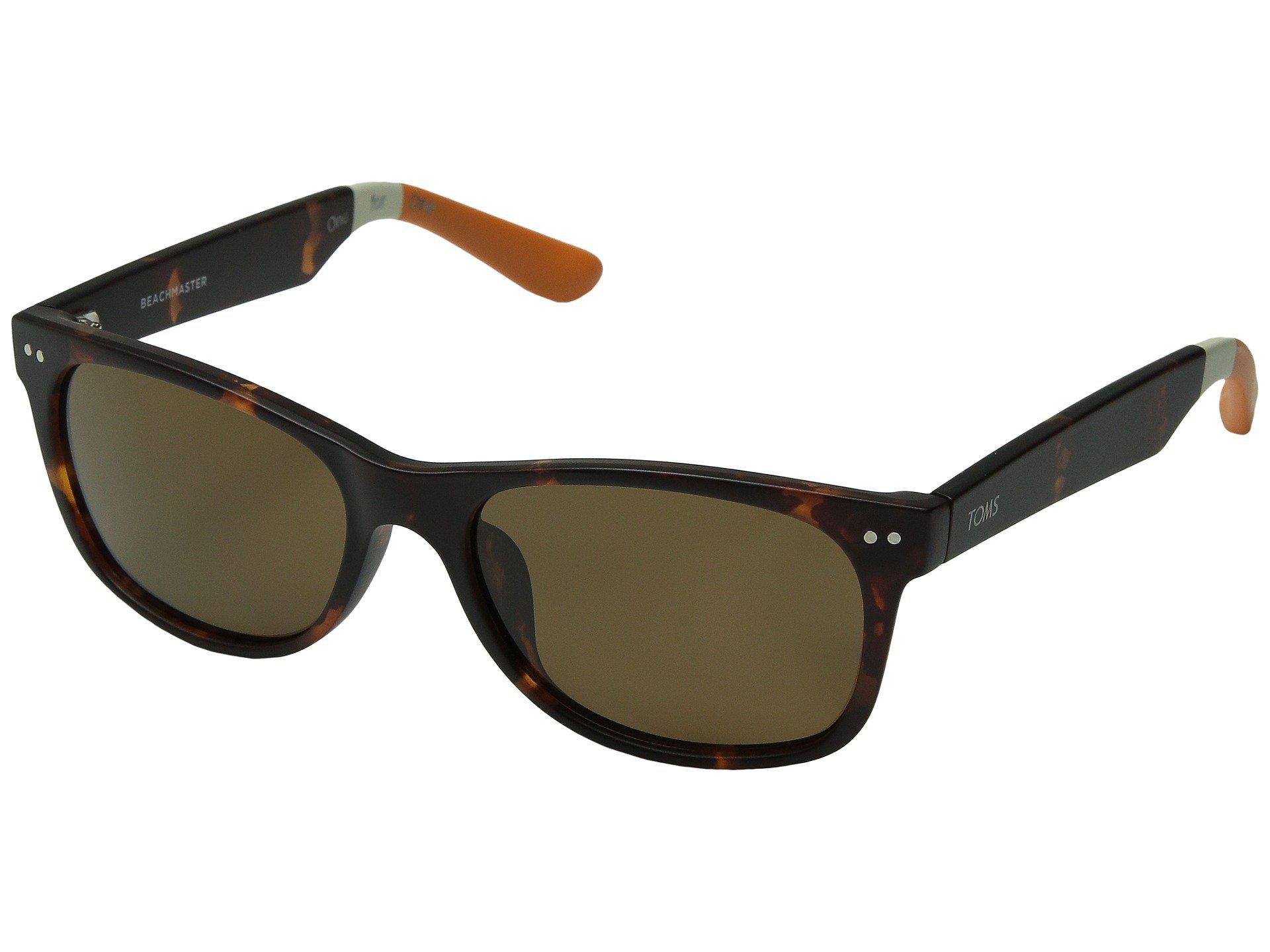 1f940261902 Lyst - TOMS Beachmaster Polarized (matte Black) Fashion Sunglasses ...