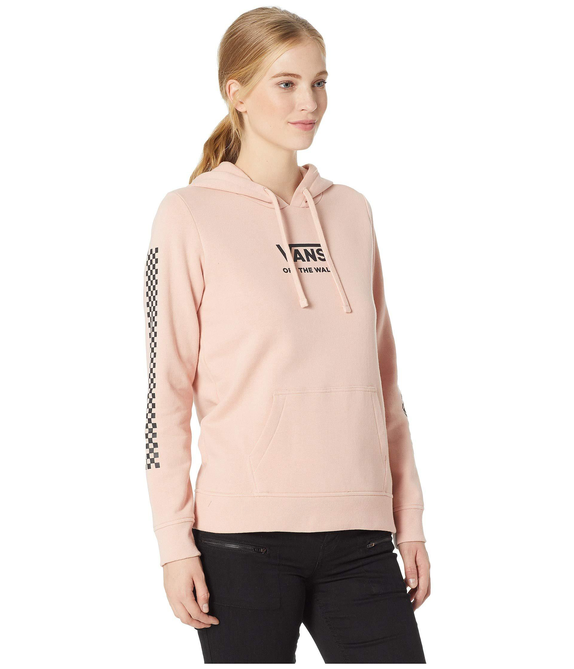 b2ee3d27b6 Lyst - Vans Funday Hoodie (rose Cloud) Women s Fleece in Pink