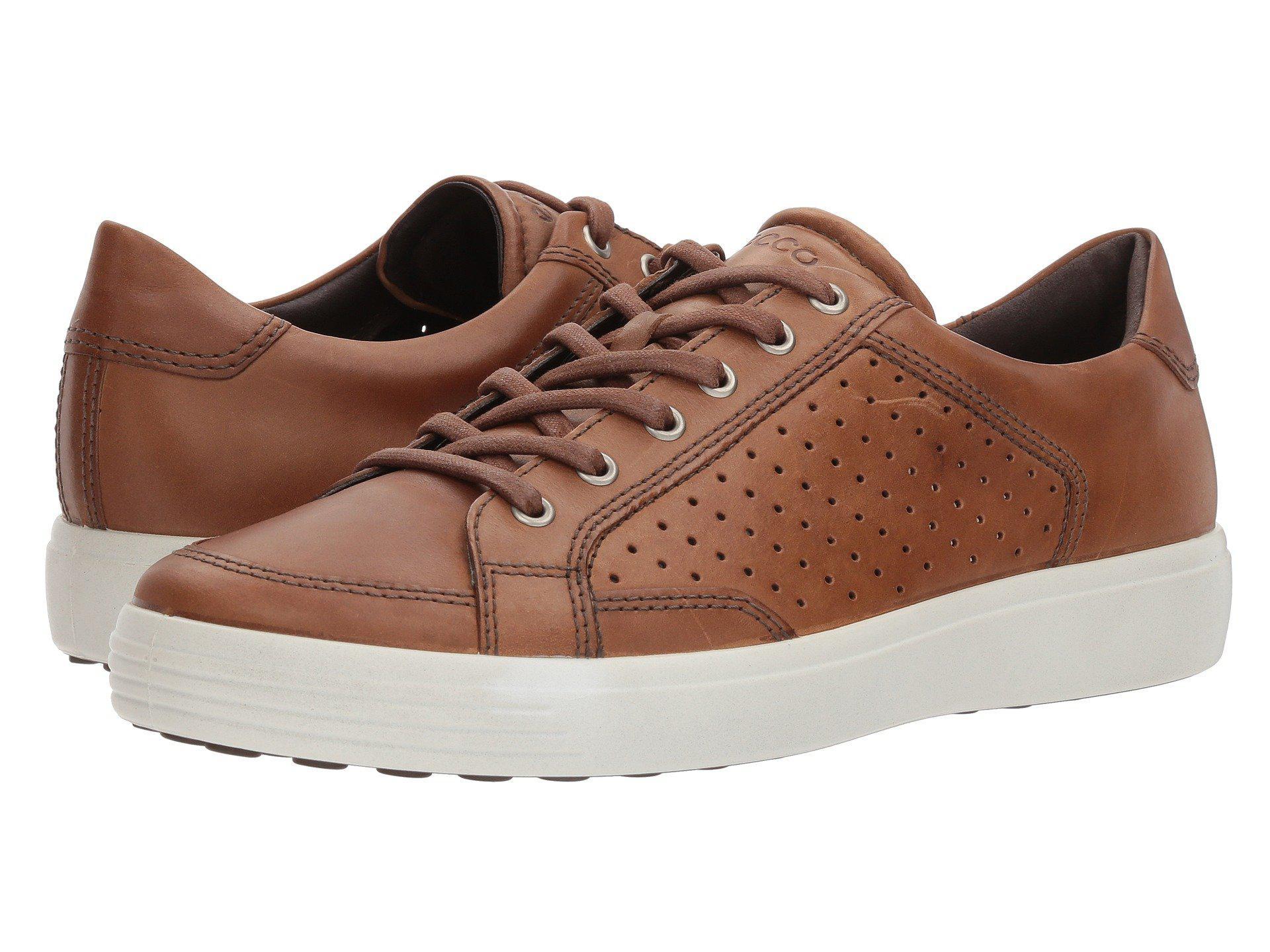 f2bbfa9a83e9 Lyst - Ecco Soft 7 Retro Tie (whiskey) Men s Lace Up Casual Shoes in ...