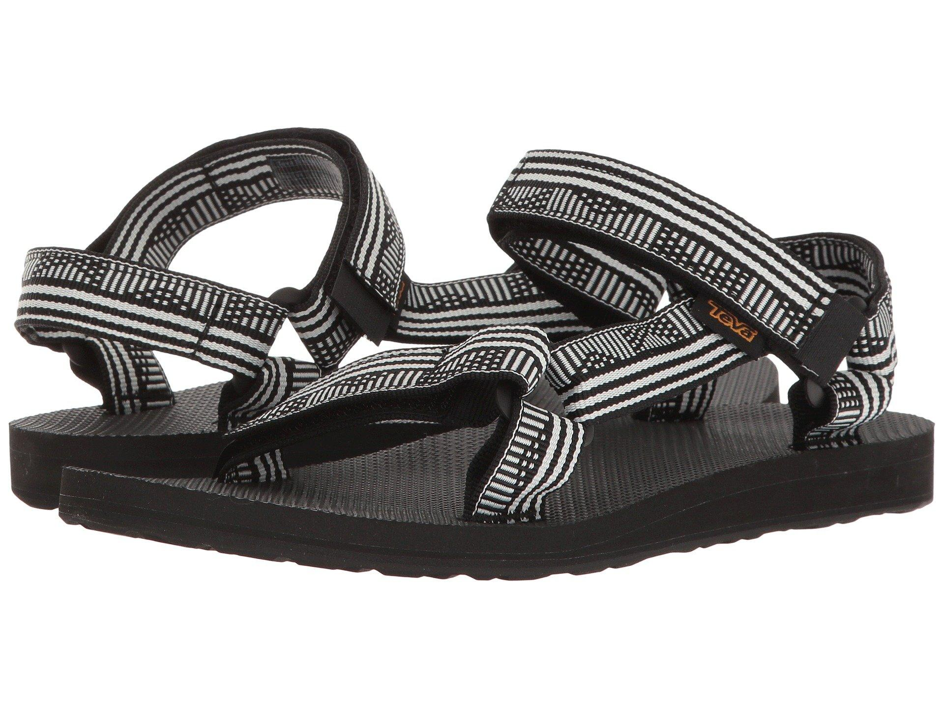 1c6fe9497602 Lyst - Teva Original Universal (bright White) Women s Sandals in Black