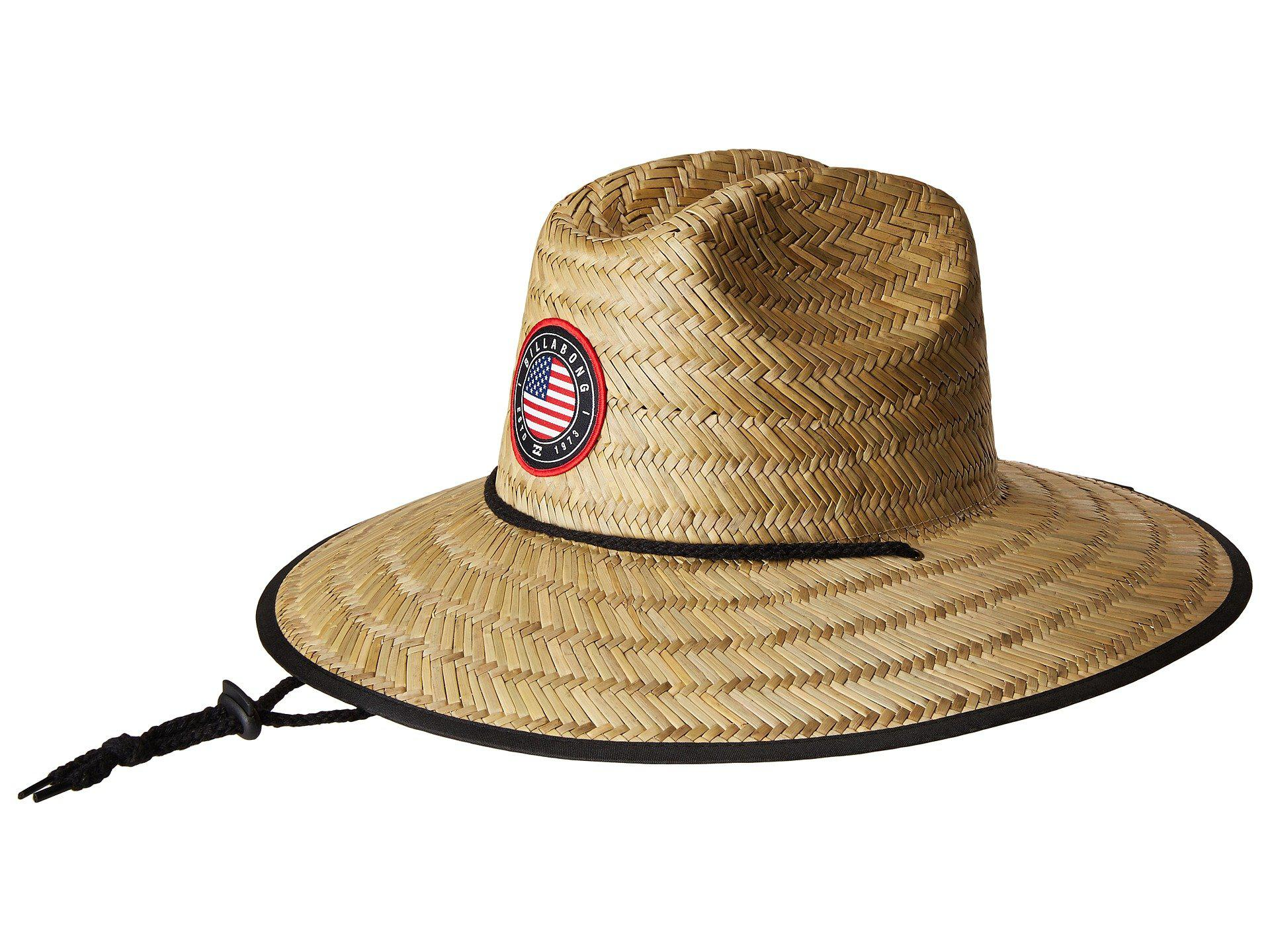 Lyst Billabong Native Rotor Tides Lifeguard Hat Usa Bucket Caps