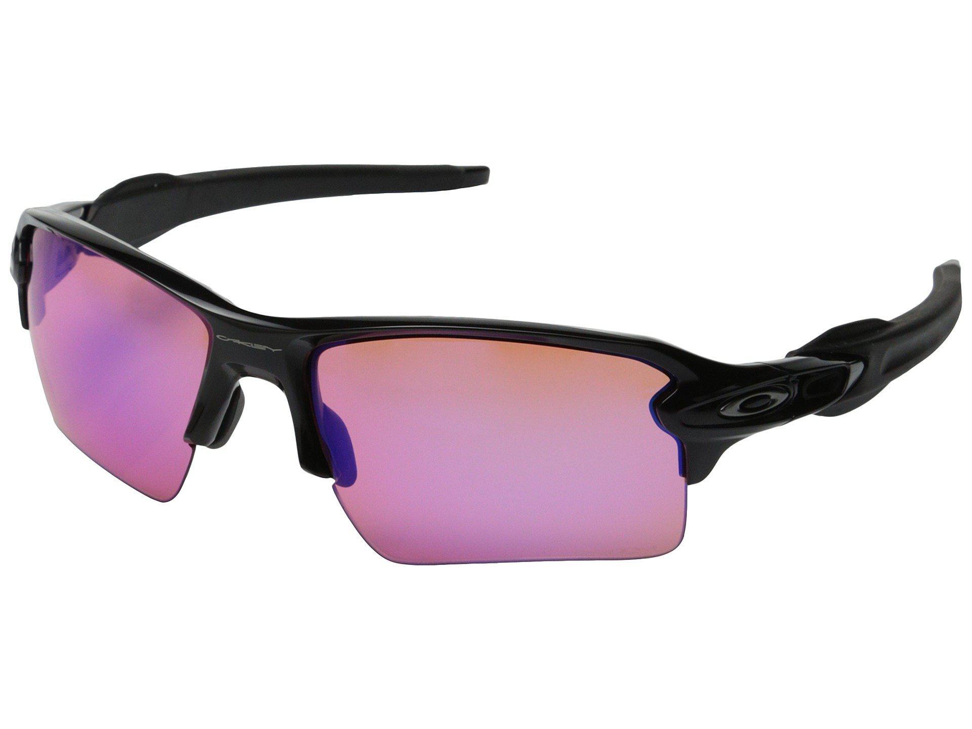 6008a3c776d1f9 Lyst - Oakley Flak 2.0 Xl (polished Black W prizm Trail) Sport ...