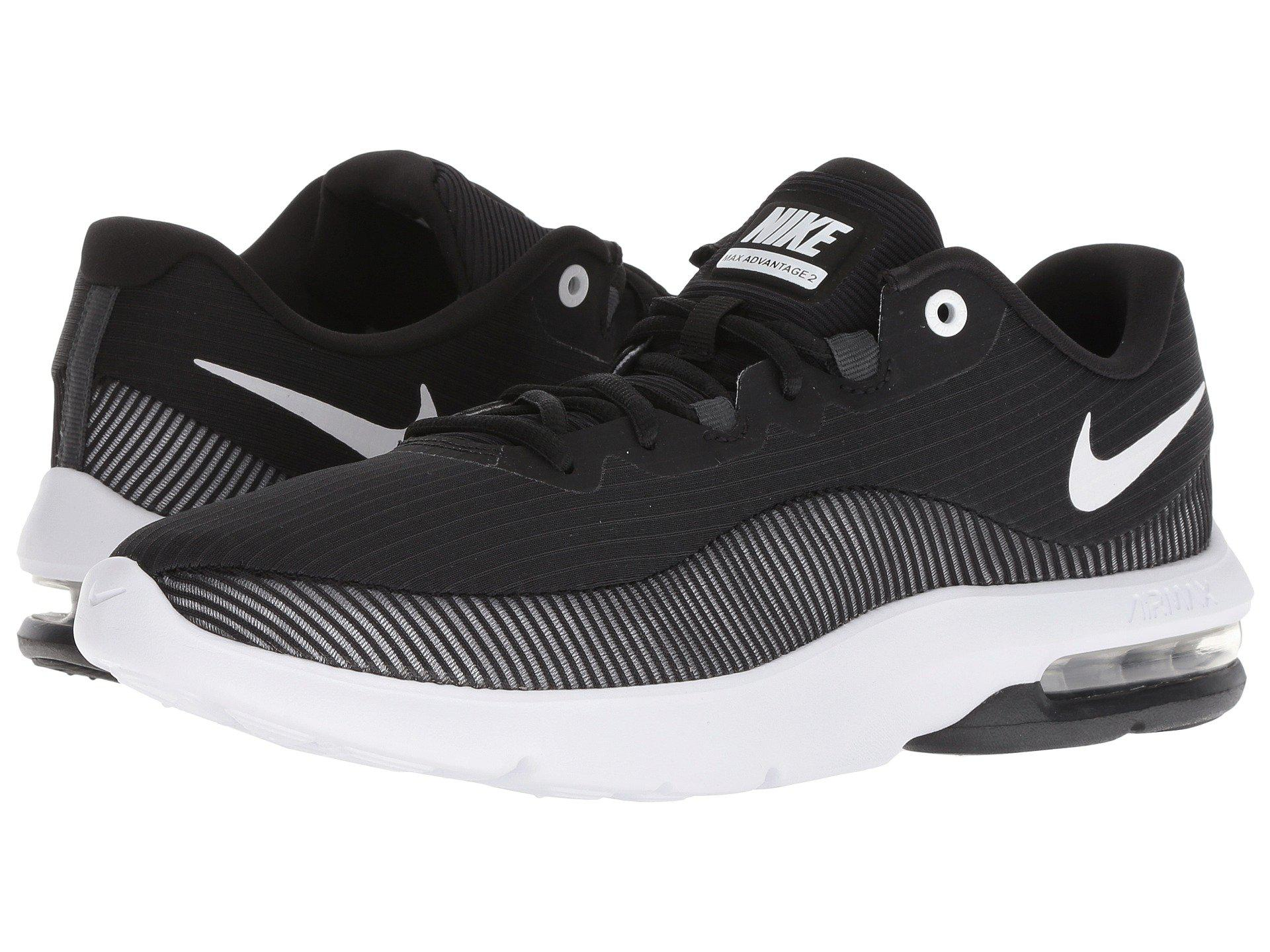 e5f46951f1 Nike Air Max Advantage 2 (black/white/anthracite) Men's Running ...