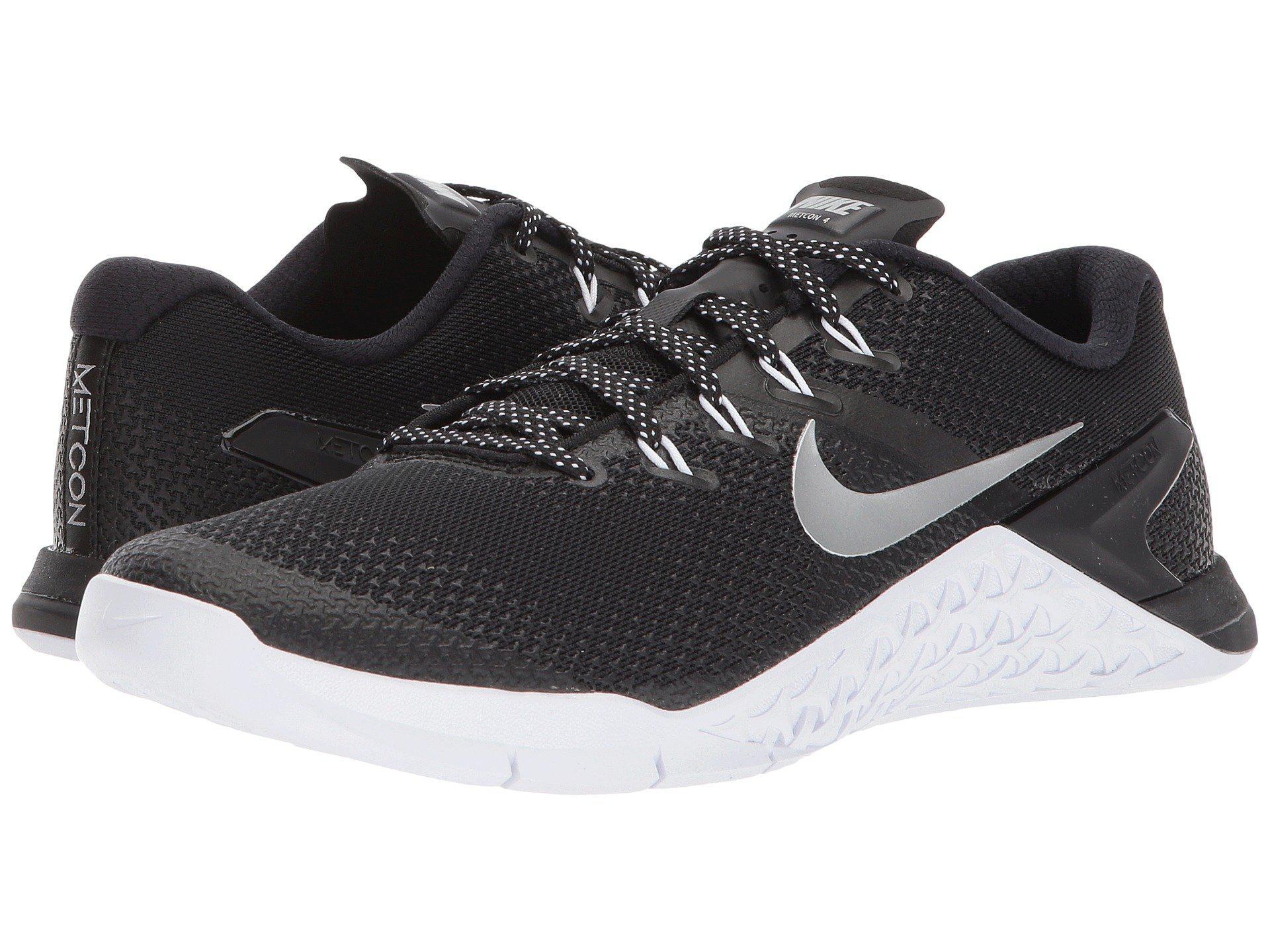 wholesale dealer dc53a 658c5 Nike. Metcon 4 (black metallic Silver white volt Glow) Women s Shoes