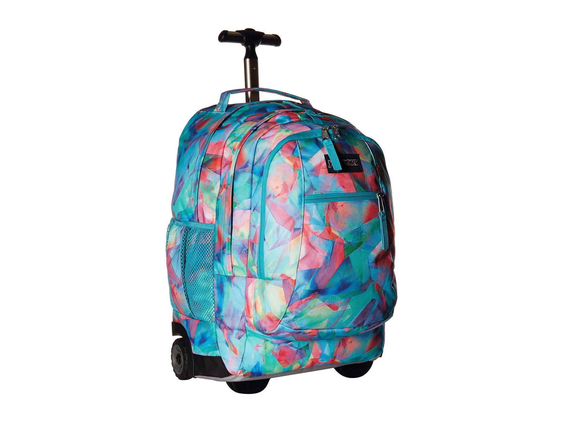 Lyst - Jansport Driver 8 (prism Pink Pretty Posey) Backpack Bags in Blue e86f8d5c3c