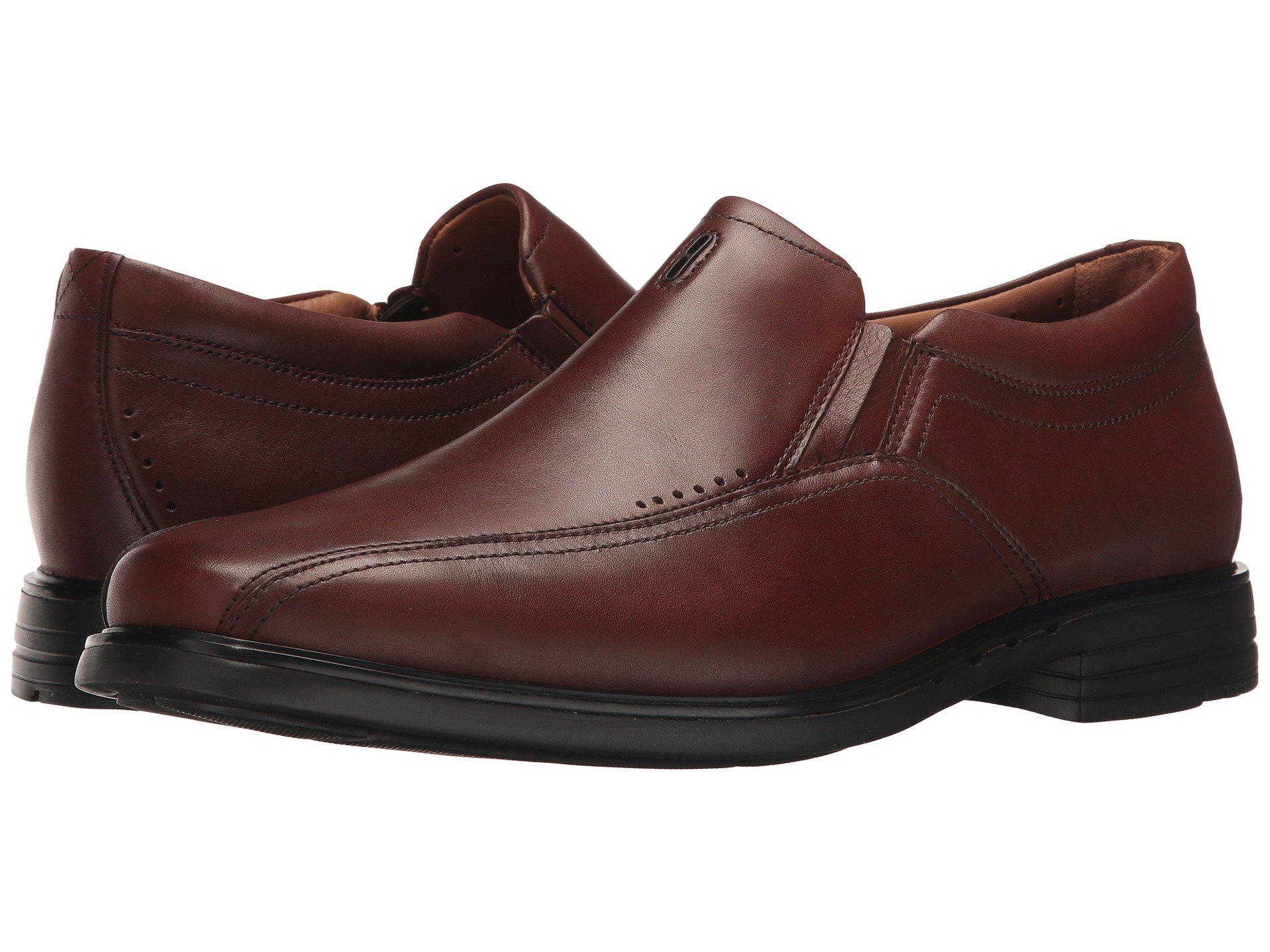 Clarks. Men's Brown Unsheridan Go Slip-on Loafer
