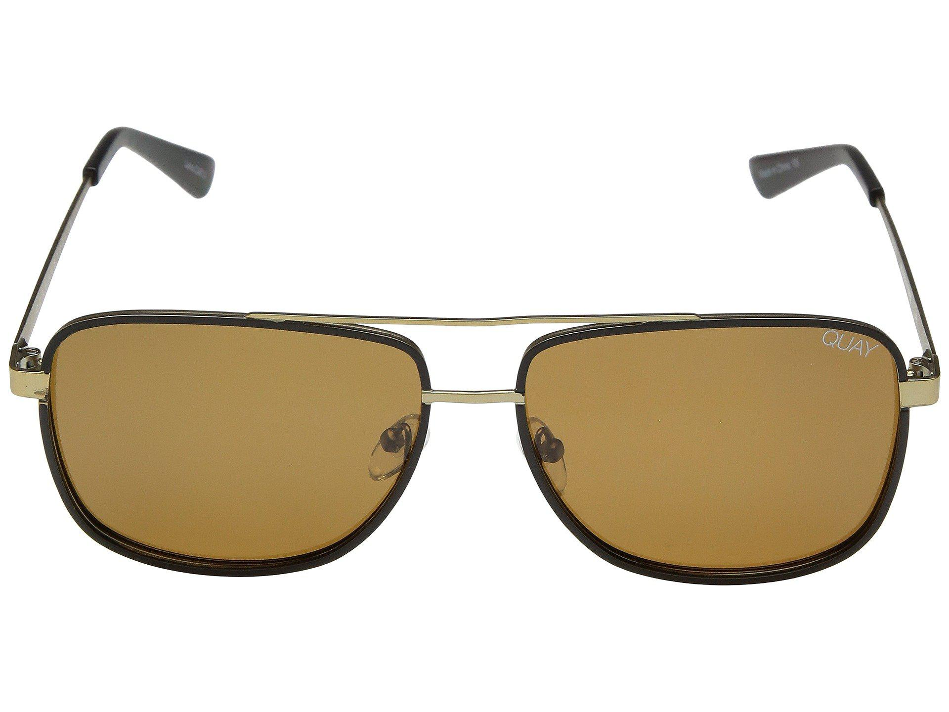 9883f2f241 Quay - Brown Modern Times (black smoke) Fashion Sunglasses for Men - Lyst.  View fullscreen