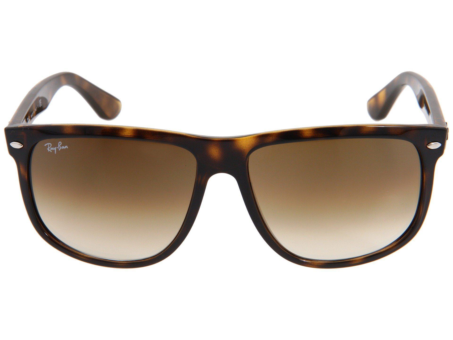 28933b2d0a Ray-Ban - Brown Rb4147 Boyfriend (black black) Fashion Sunglasses - Lyst.  View fullscreen