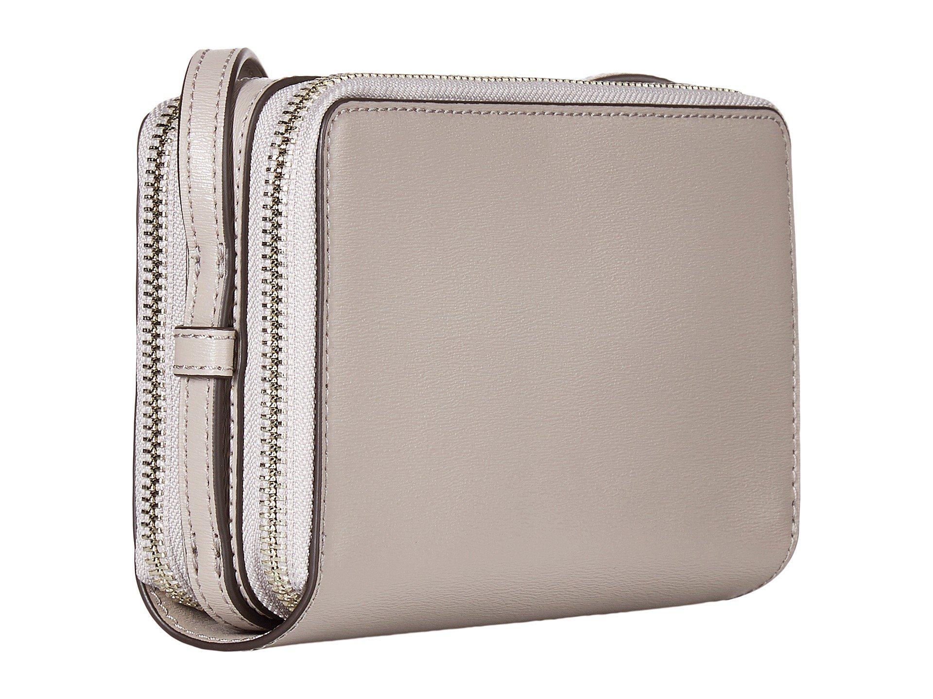 931820818266 Lyst - Tory Burch Parker Double-zip Mini Bag (dust Storm) Bags